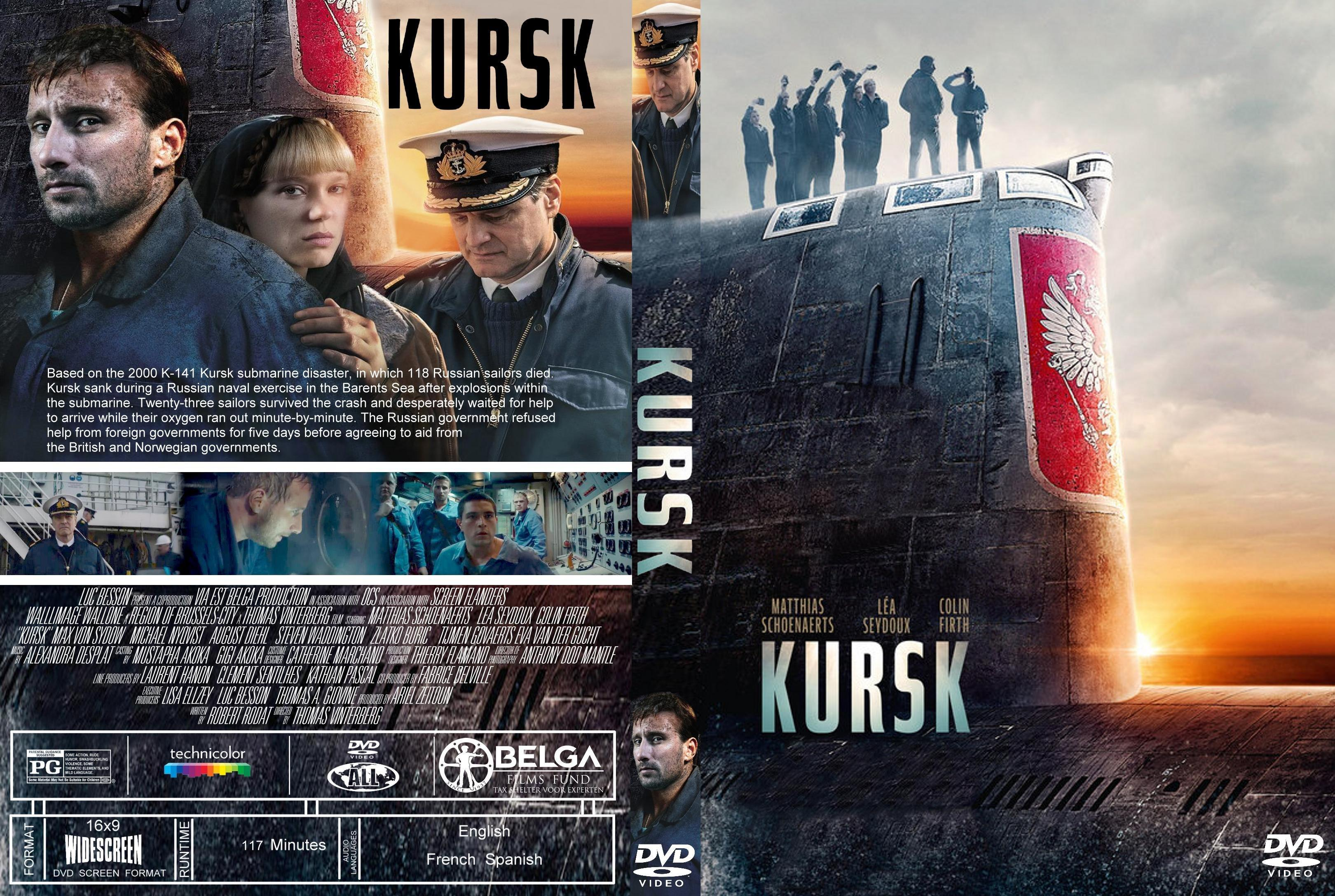Kursk (2018) : Front | DVD Covers | Cover Century | Over