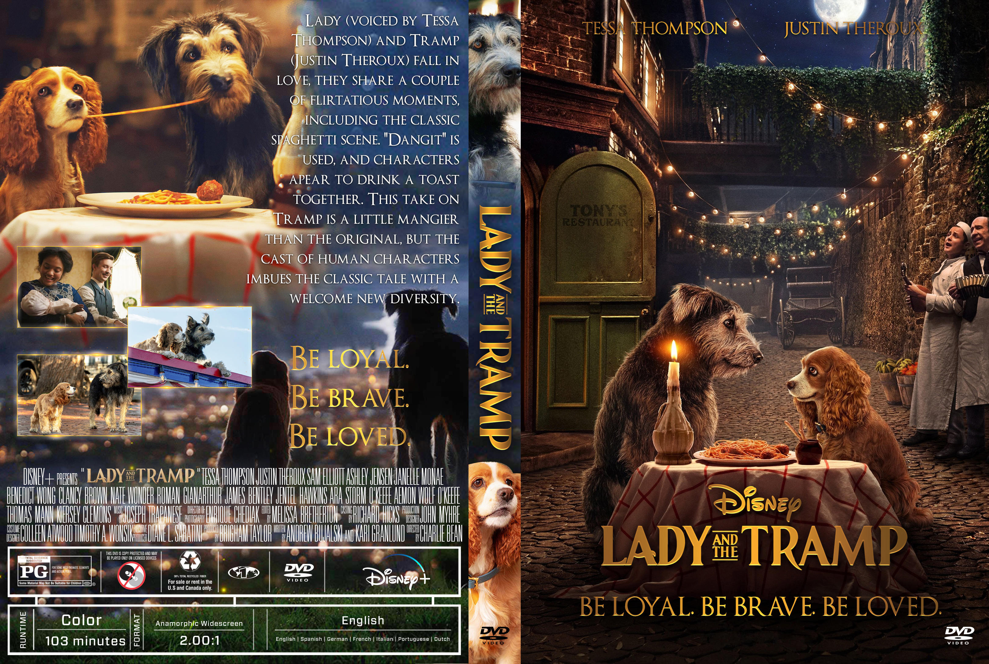Lady And The Tramp 2019 Front Dvd Covers Cover Century Over 500 000 Album Art Covers For Free