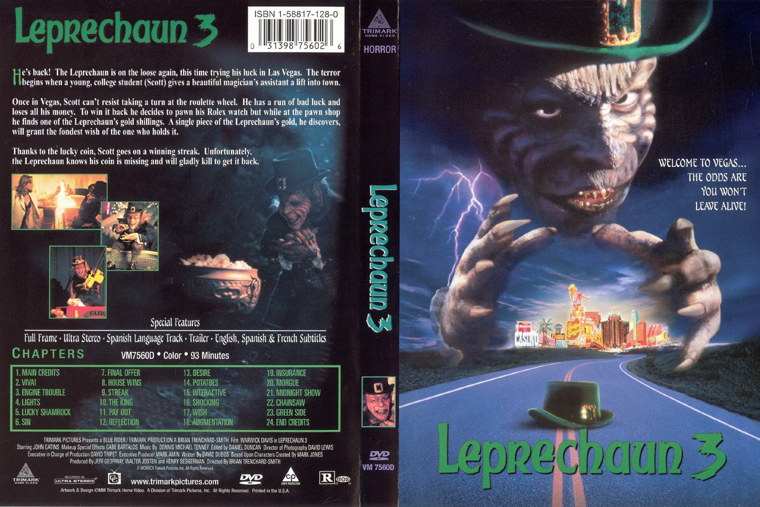 The House Of Sin Dvd leprechaun 3 dvd us | dvd covers | cover century | over