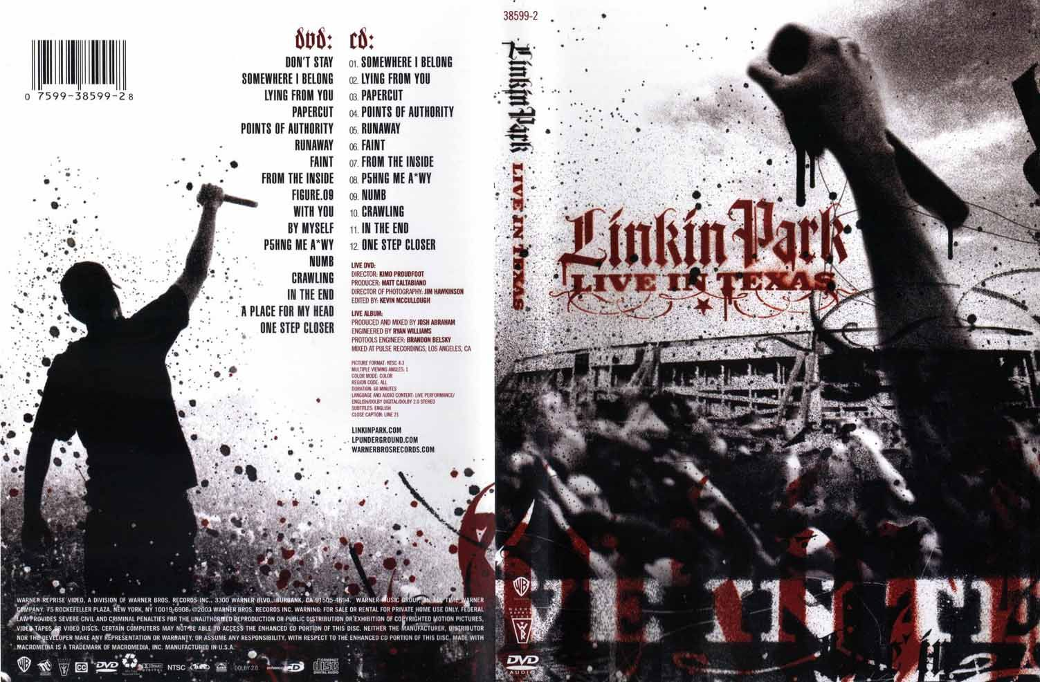 Linkin park live in texas full album free download