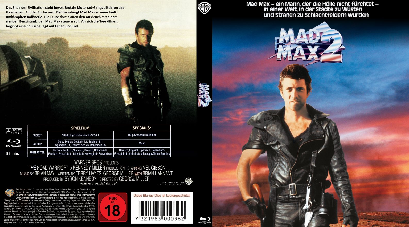 mad max 2 version 3 | DVD Covers | Cover Century | Over 500.000 Album Art  covers for free