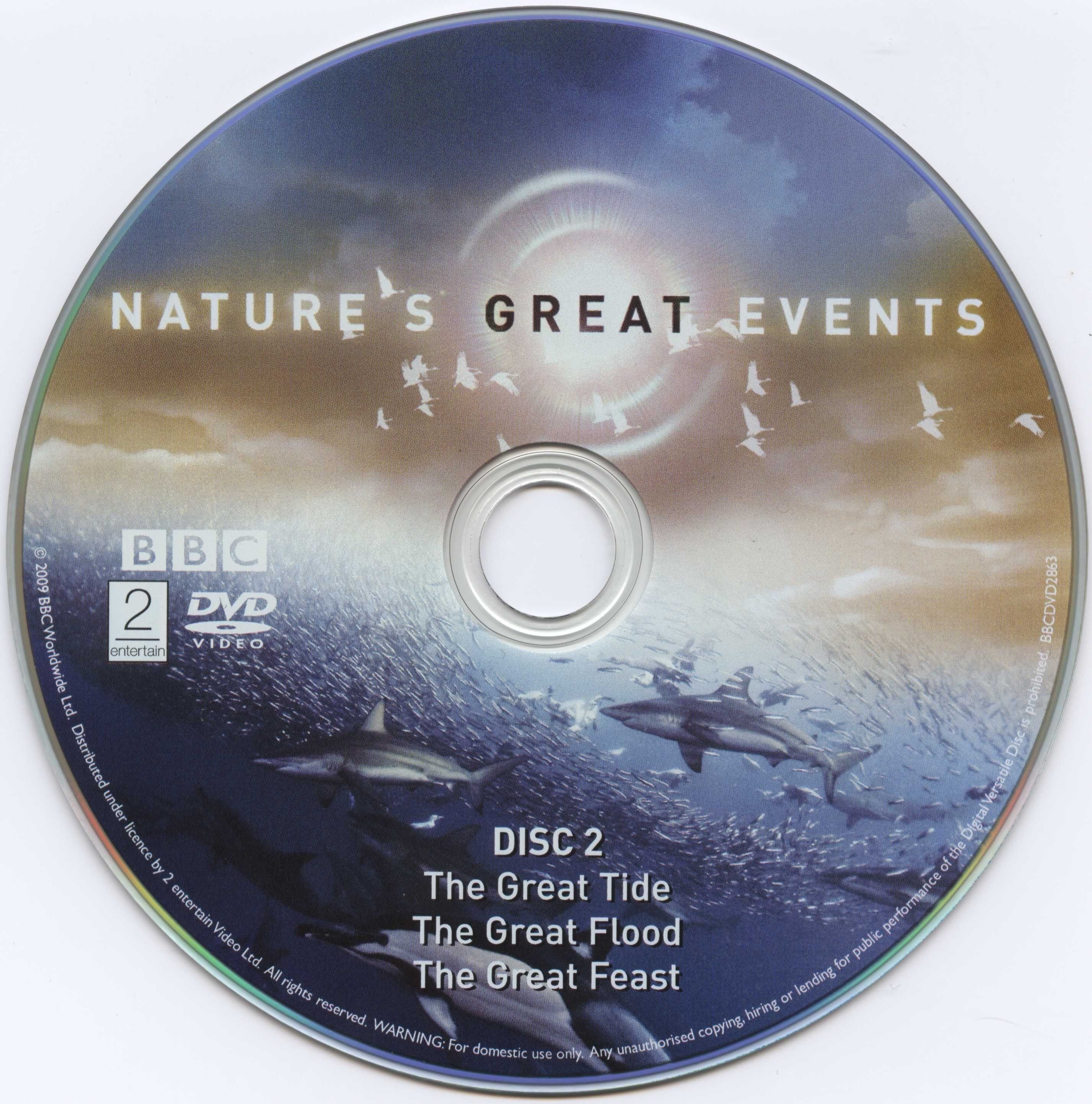 Natures Great Events Dvd Cd2 Covers Cover Century Over Working Of Digital Versatile Disc