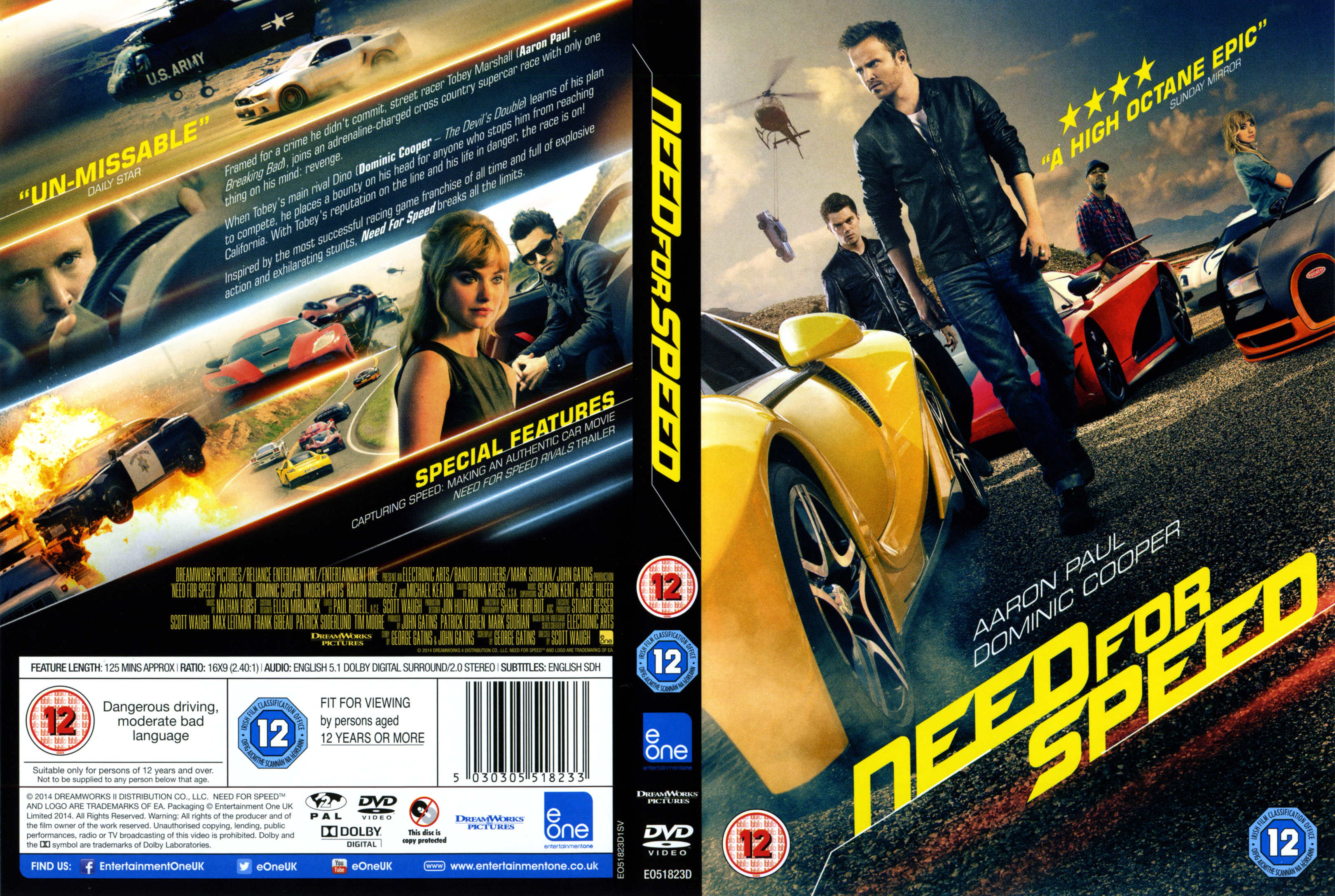 Need For Speed 2014 Dvd Covers Cover Century Over 500 000 Album Art Covers For Free