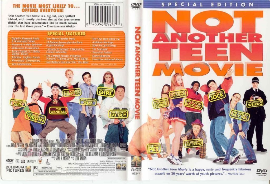 Image result for Not Another Teenage Movie dvd cover