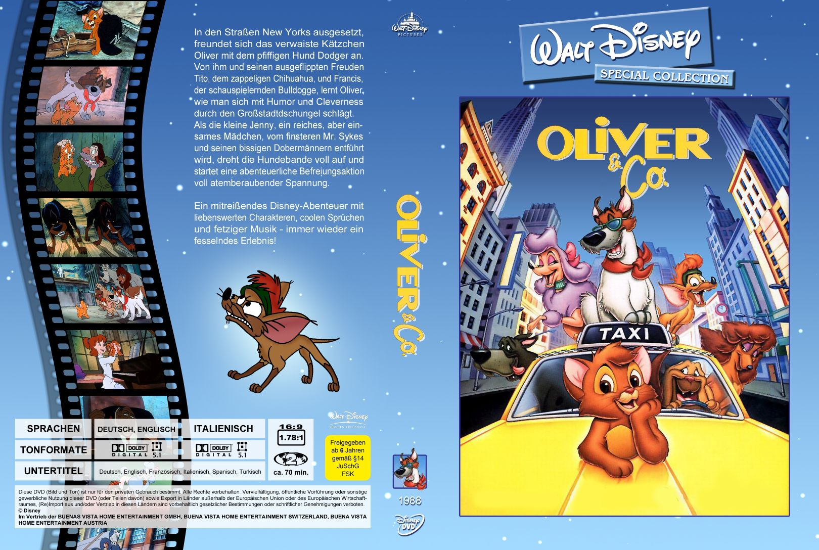 Oliver Co Dvd Covers Cover Century Over 500 000 Album Art