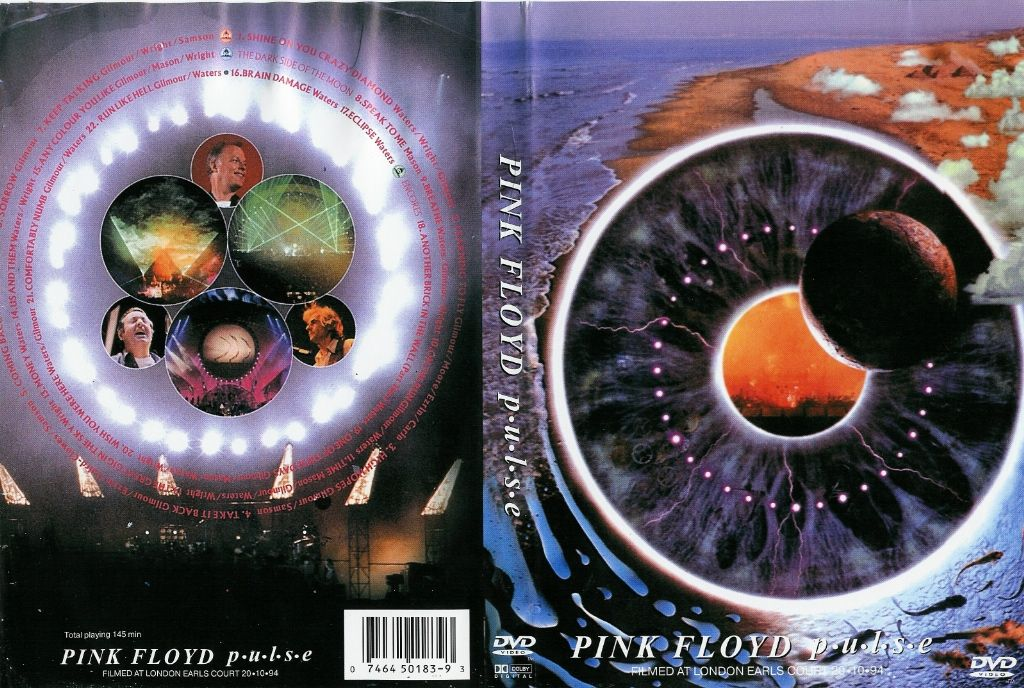 Pink Floyd Pulse DVD US | DVD Covers | Cover Century
