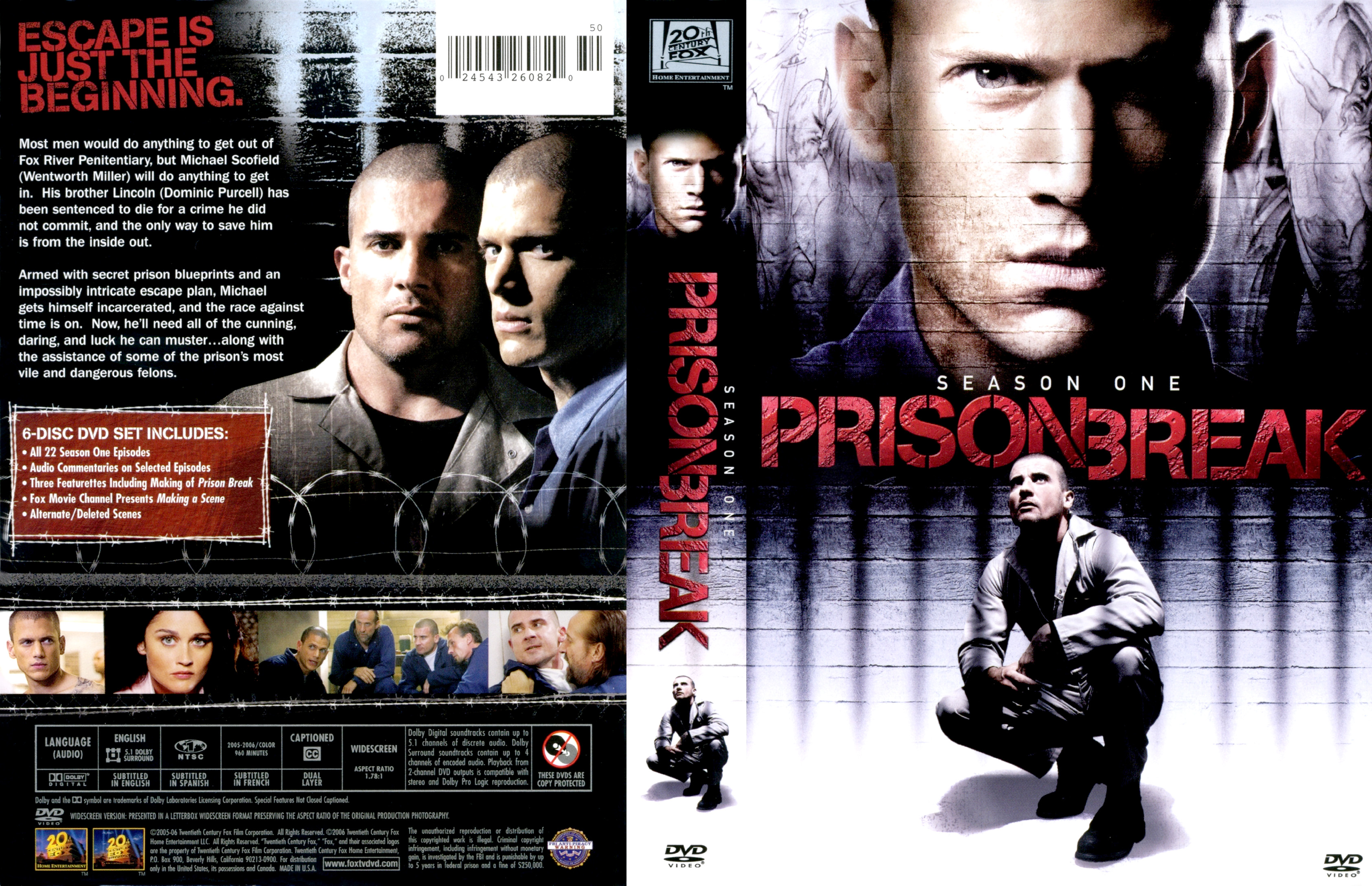 Prison Break Season 1 Dvd Covers Cover Century Over 500 000 Album Art Covers For Free
