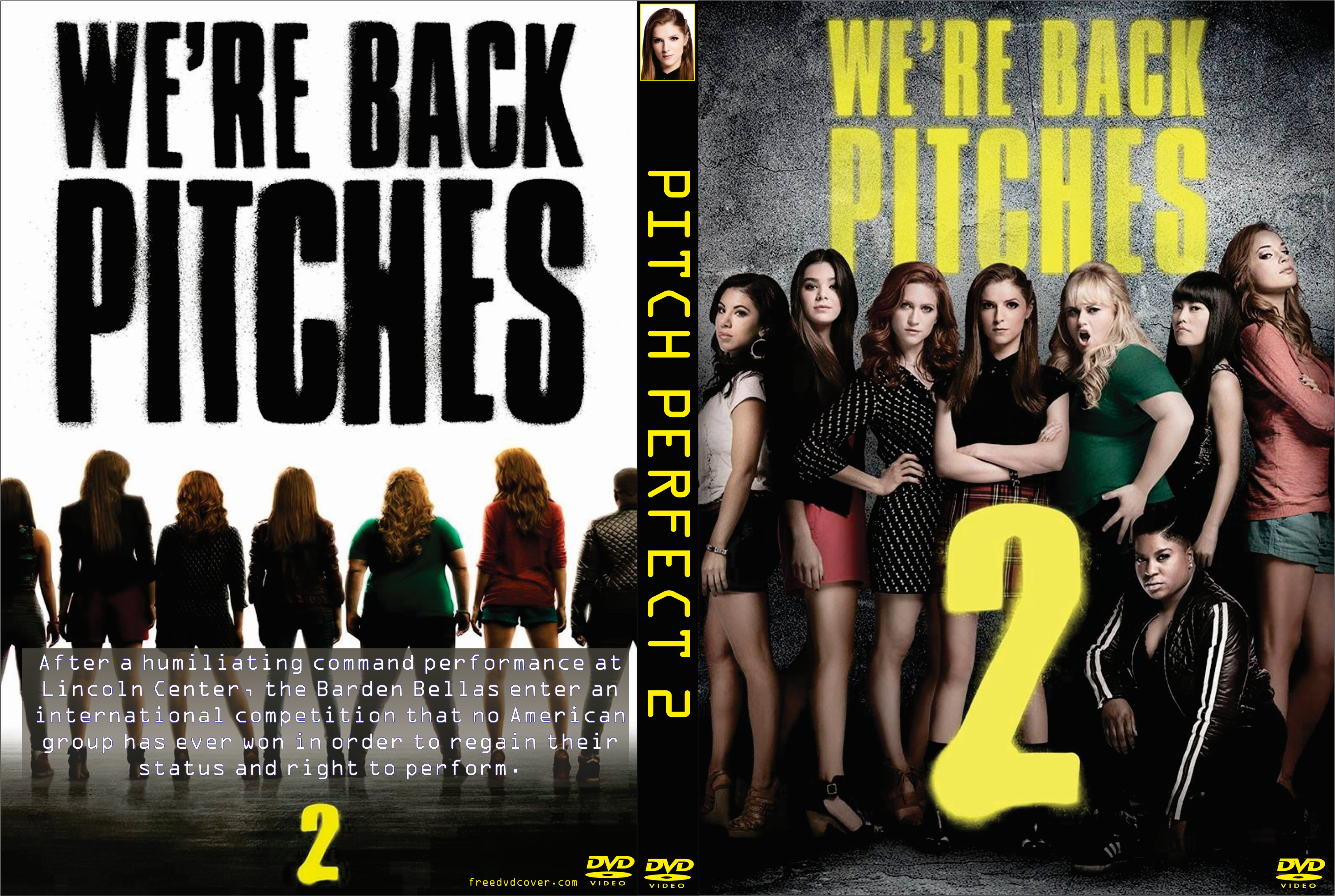Pitch Perfect 2 2015 Front Dvd Covers Cover Century Over 500 000 Album Art Covers For Free