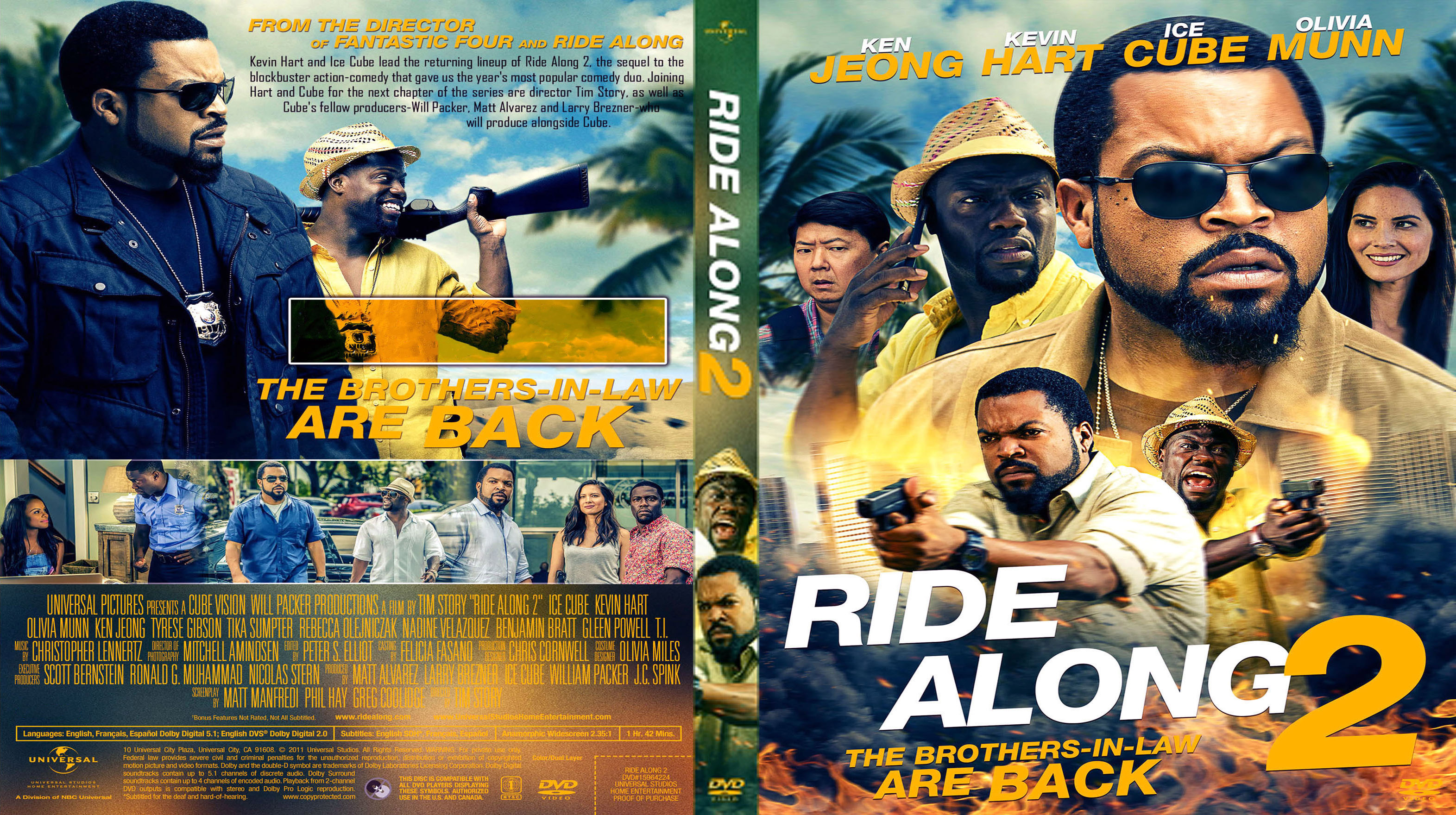ride along 2016 custom dvd cover dvd covers cover century over