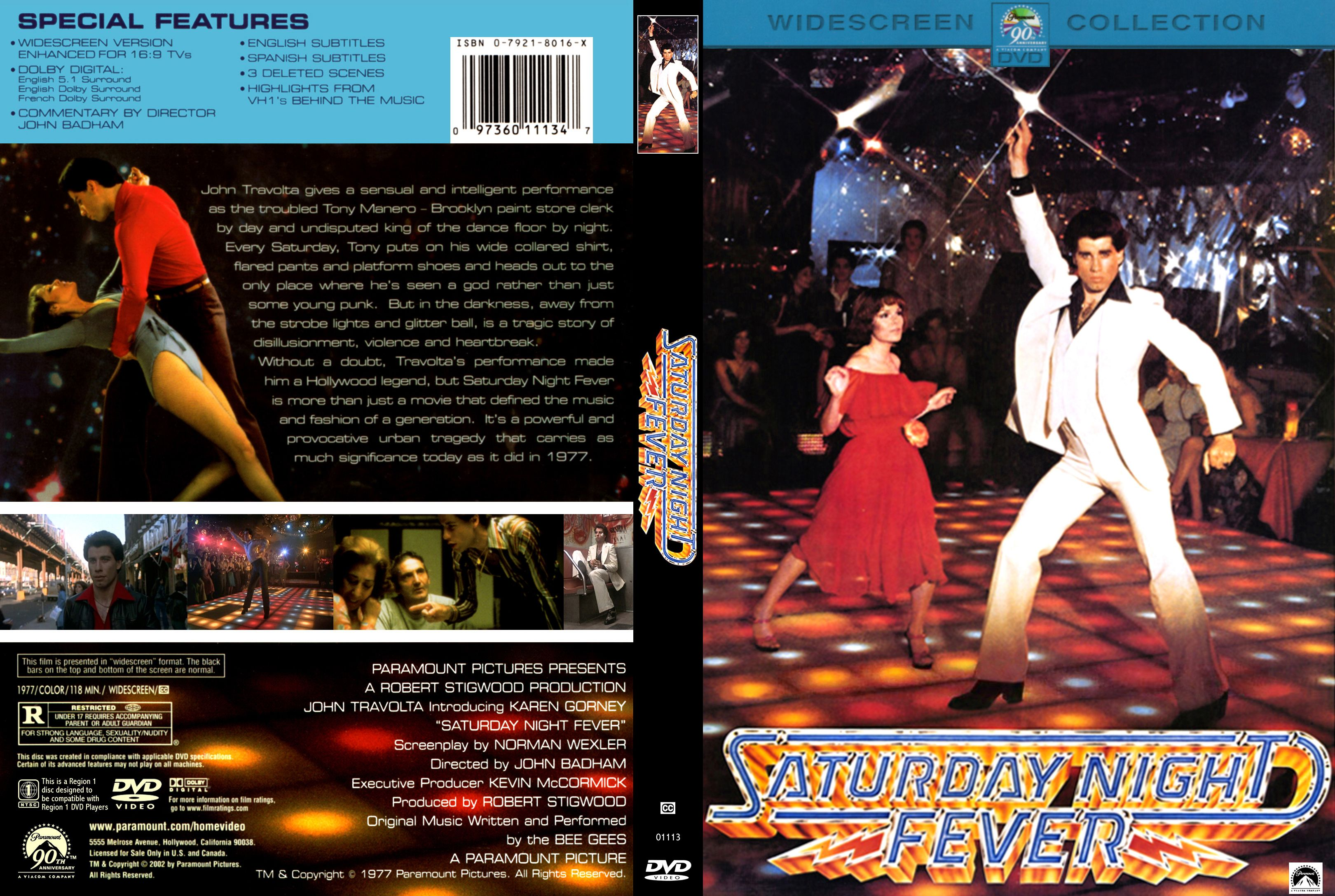 saturday night fever r1 english scan na na misc dvd dvd