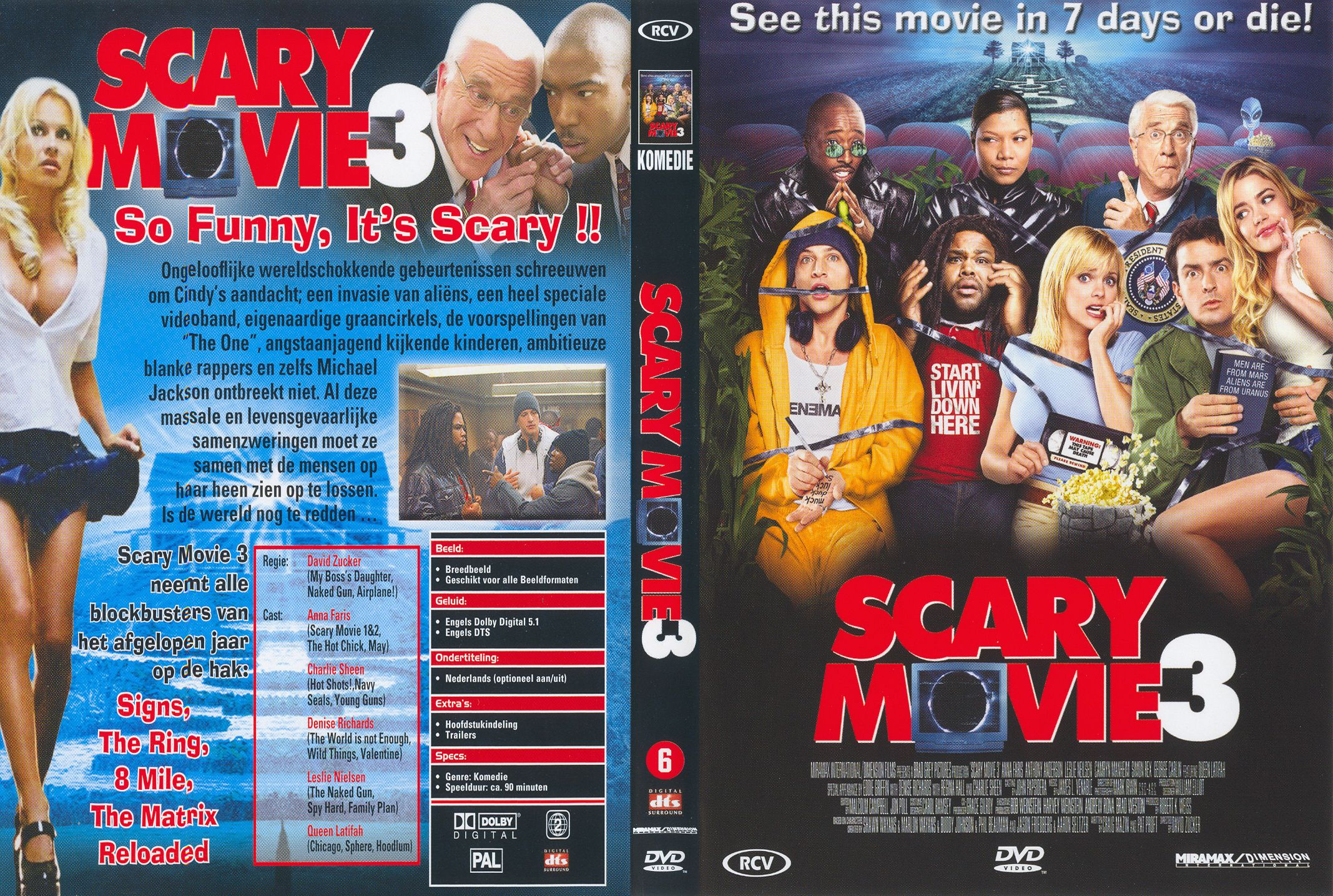 Scary Movie 3 Pal Misc Dvd Dvd Covers Cover Century Over 500 000 Album Art Covers For Free