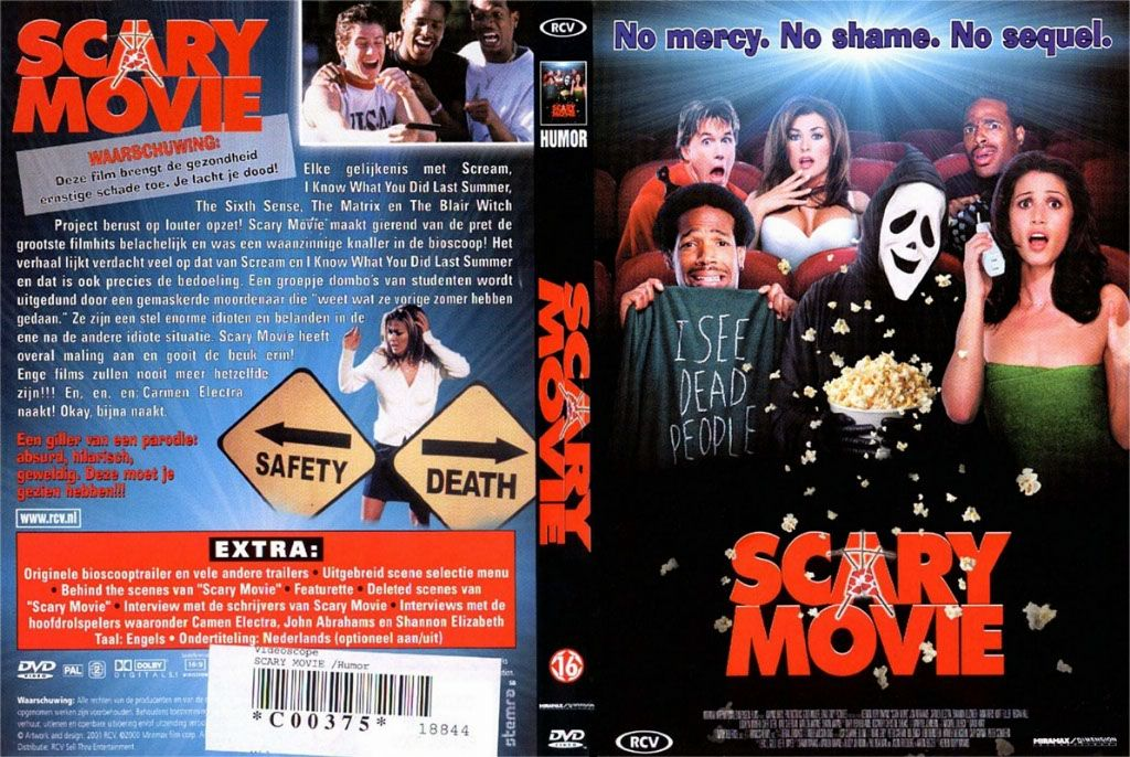 scary movie dvd nl dvd covers cover century over 500 000 album