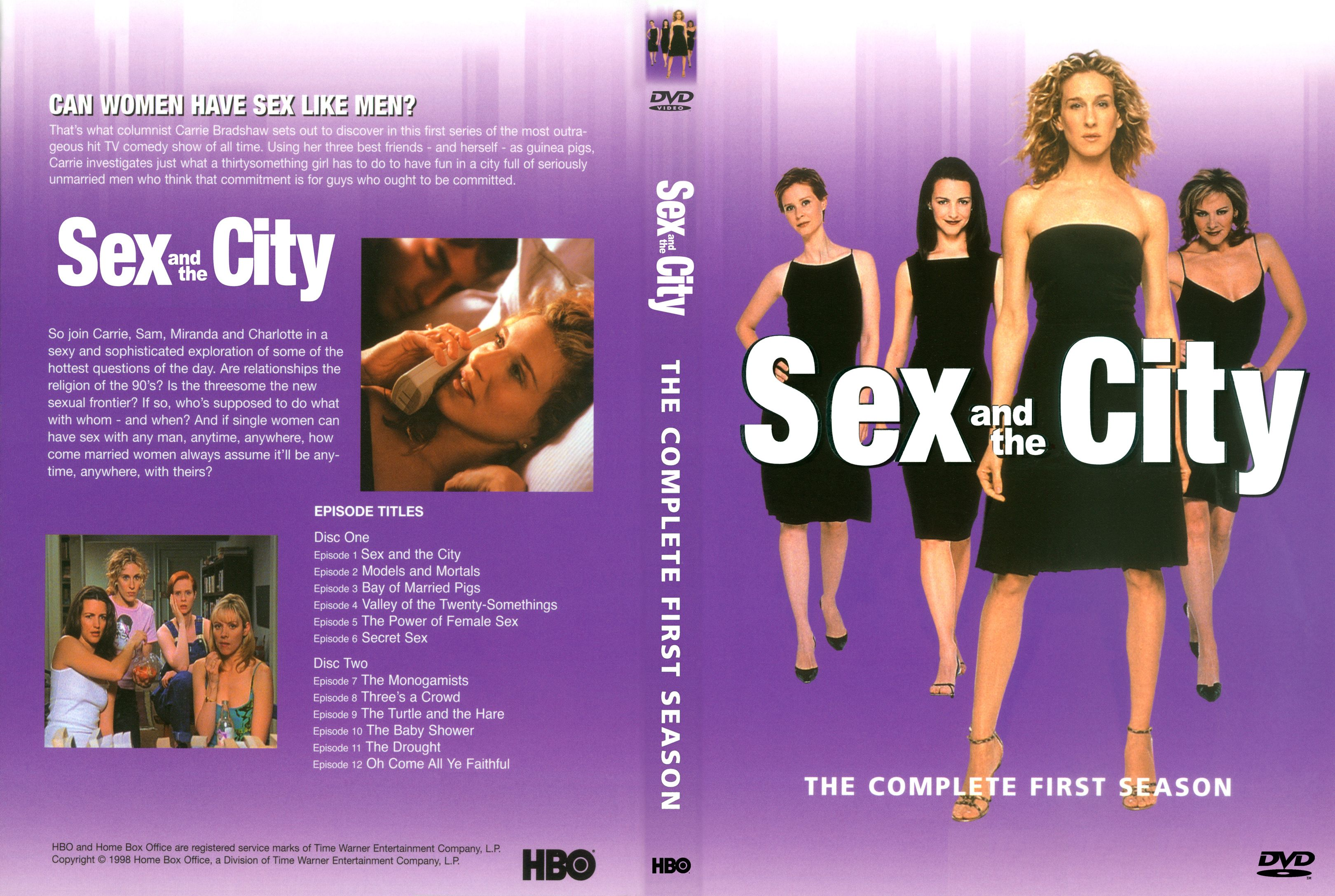Sex and the city dvd complete series box set blaze dvds