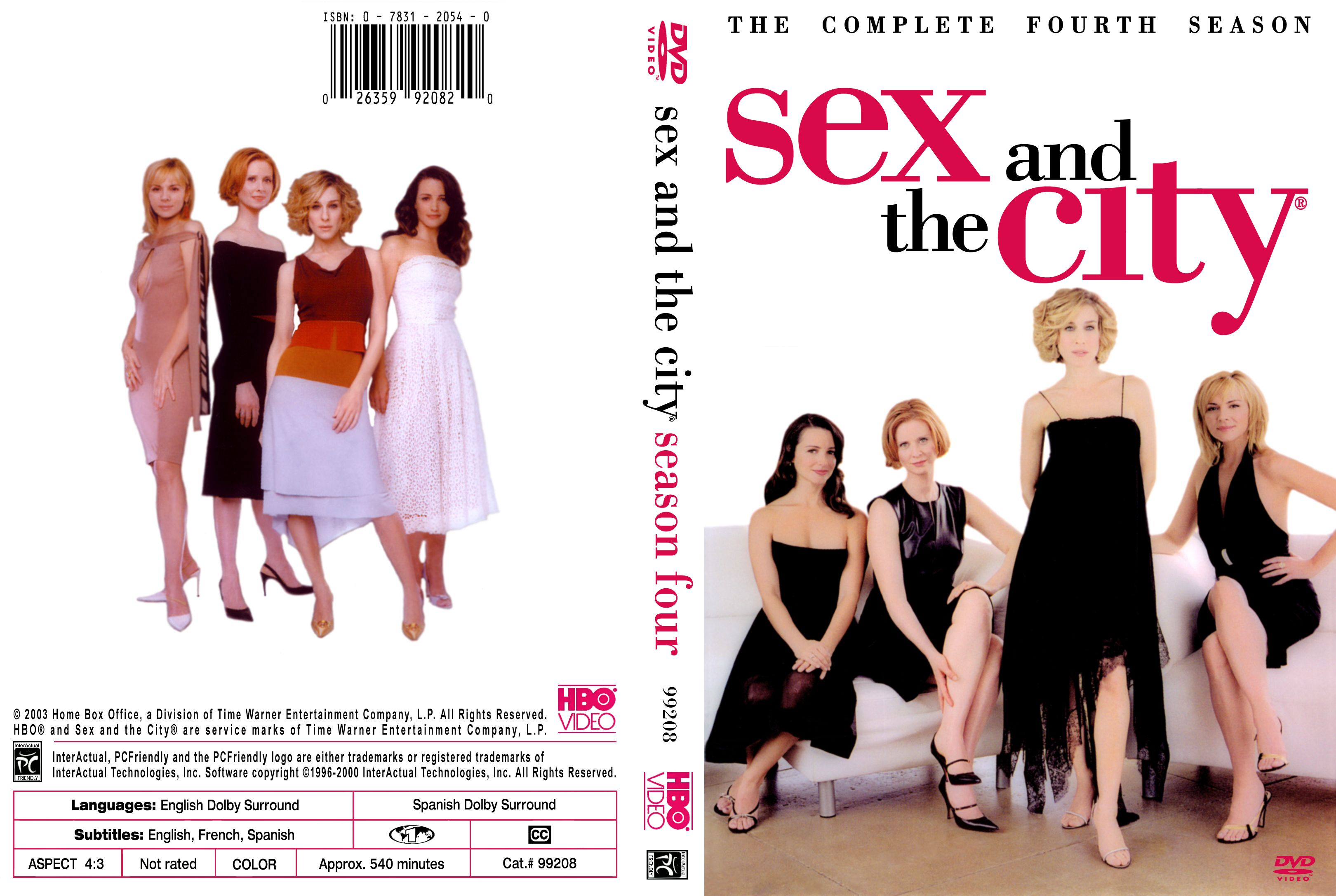 Sex and the city the movie dvd cover