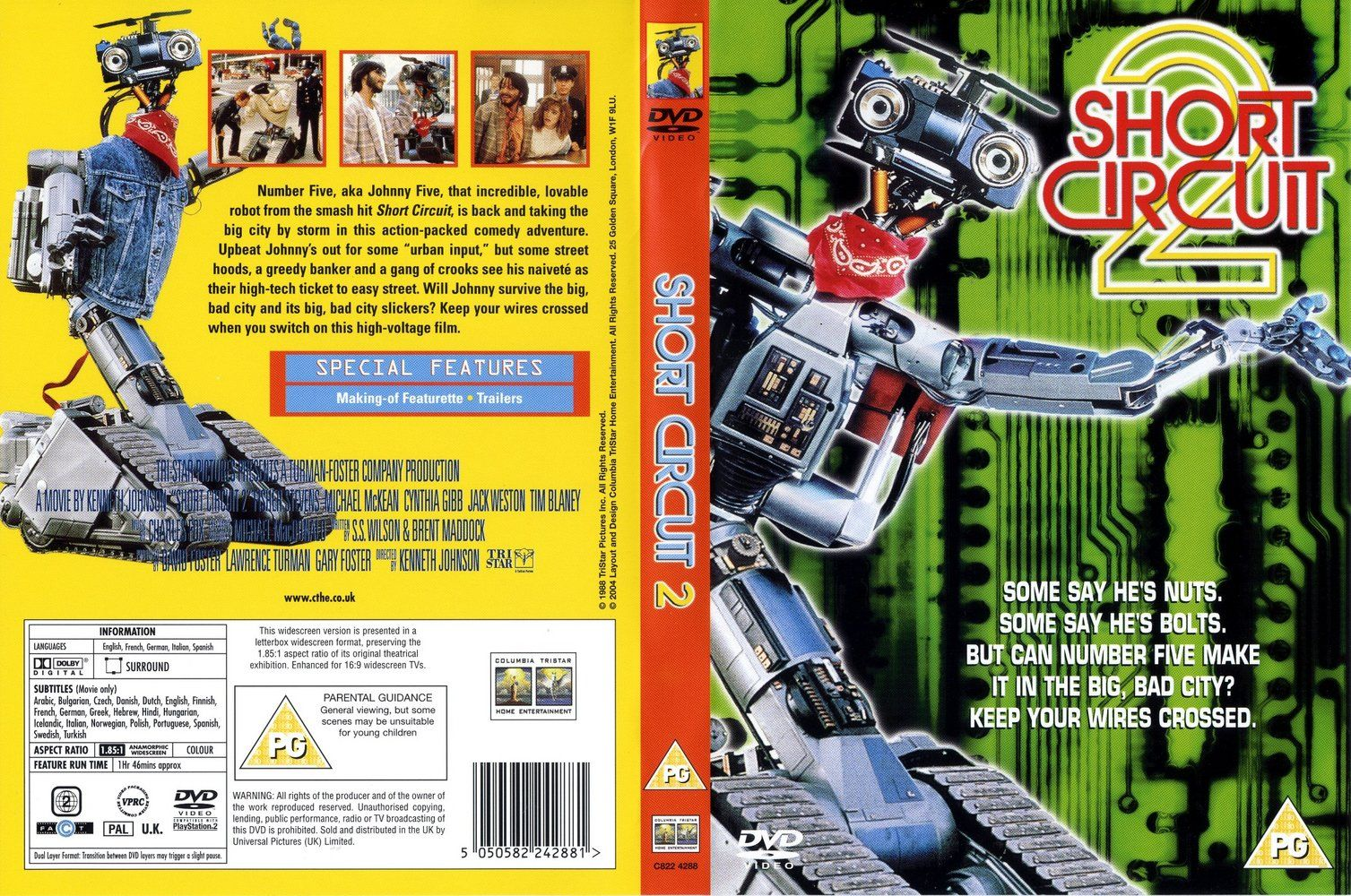 short circuit vol 02 dvd us dvd covers cover century over