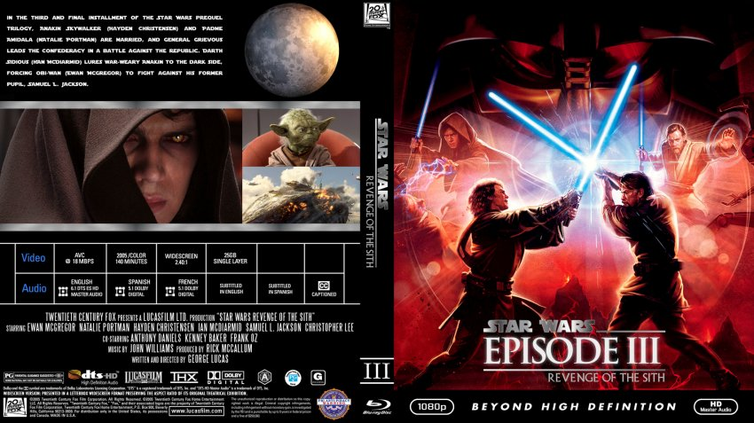 Star Wars Episode 3 Cover Dvd Covers Cover Century Over 500 000 Album Art Covers For Free