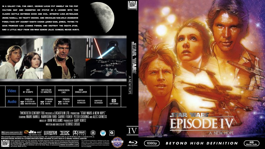 Star Wars Episode 4 Cover Dvd Covers Cover Century Over 500 000 Album Art Covers For Free