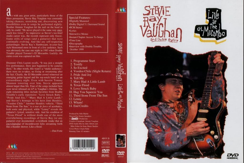an overview of the life of stevie ray vaughan