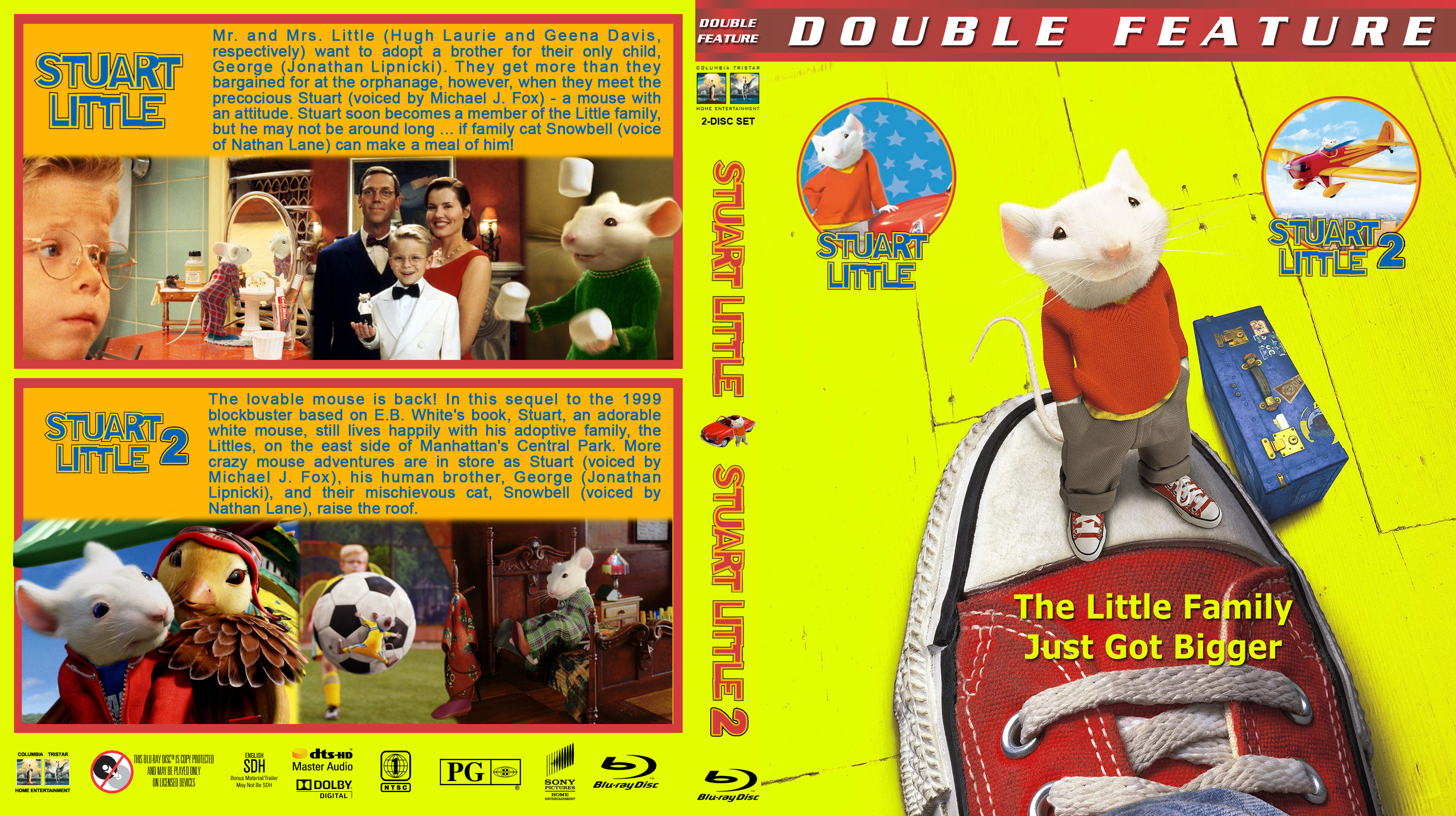 Stuart Little Double Br Dvd Covers Cover Century Over 500 000 Album Art Covers For Free