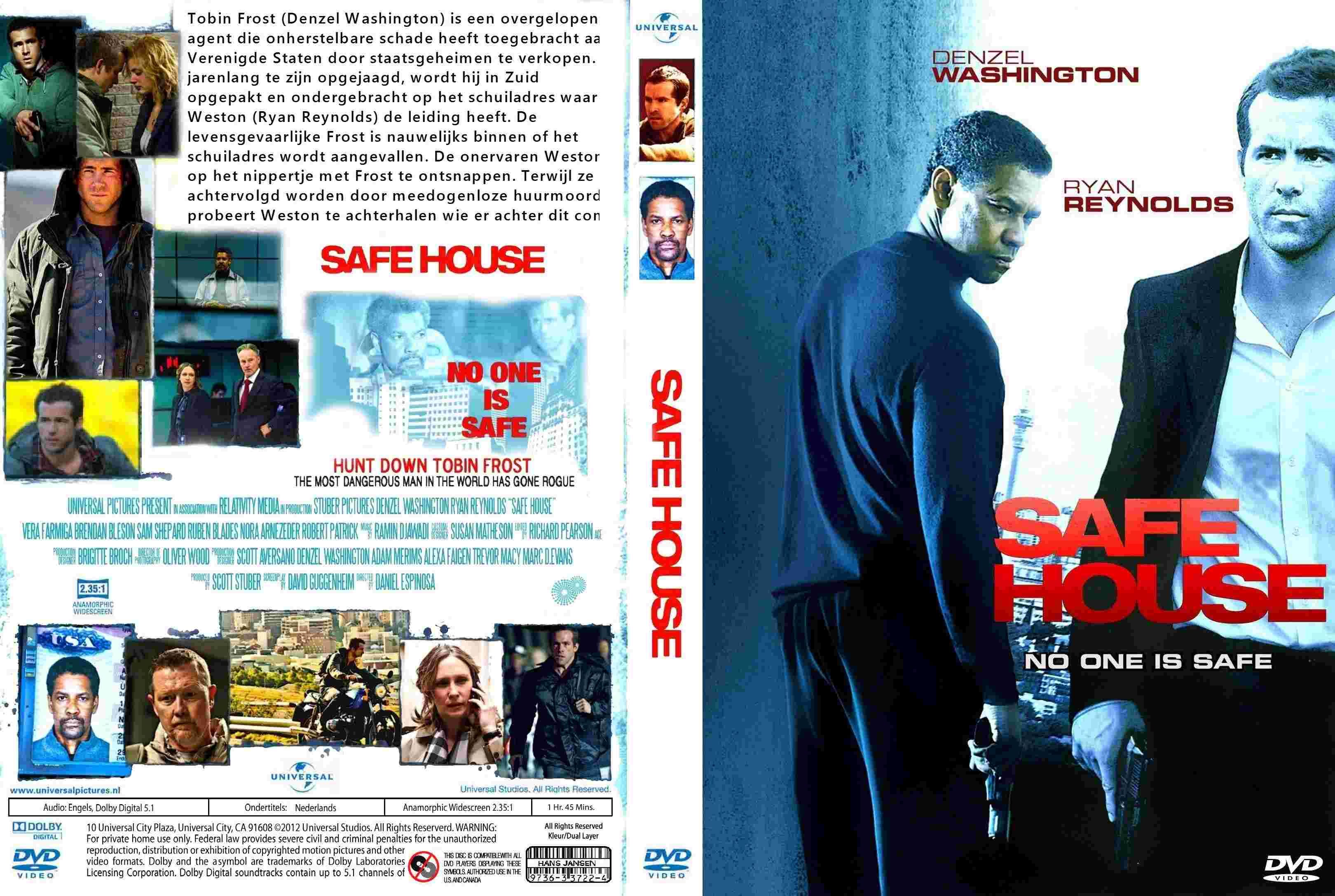 Safe House 2012 R2 Dutch Dvd Covers Cover Century Over 500 000 Album Art Covers For Free