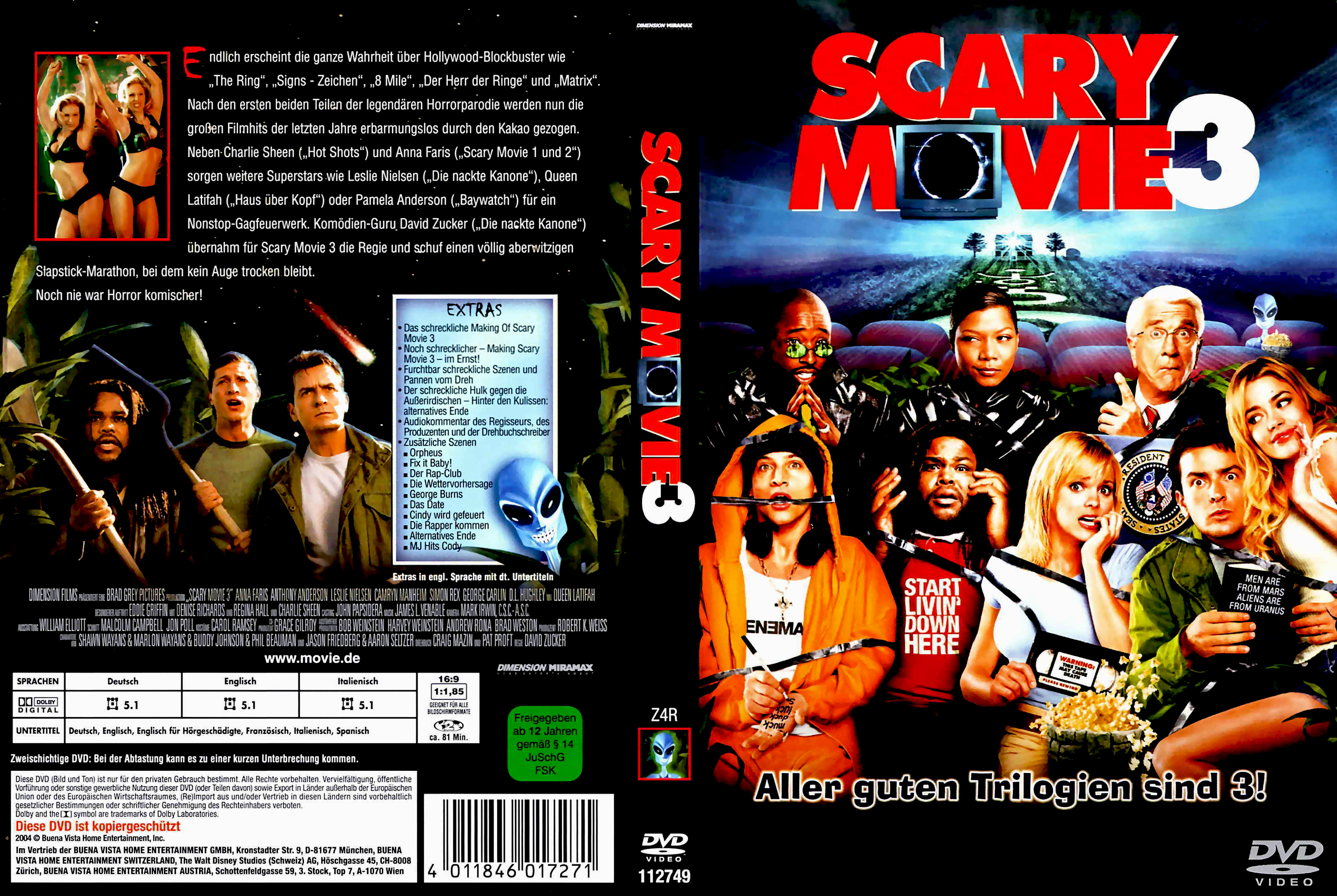 scary movie 3 dvd covers cover century over 500 000 album art