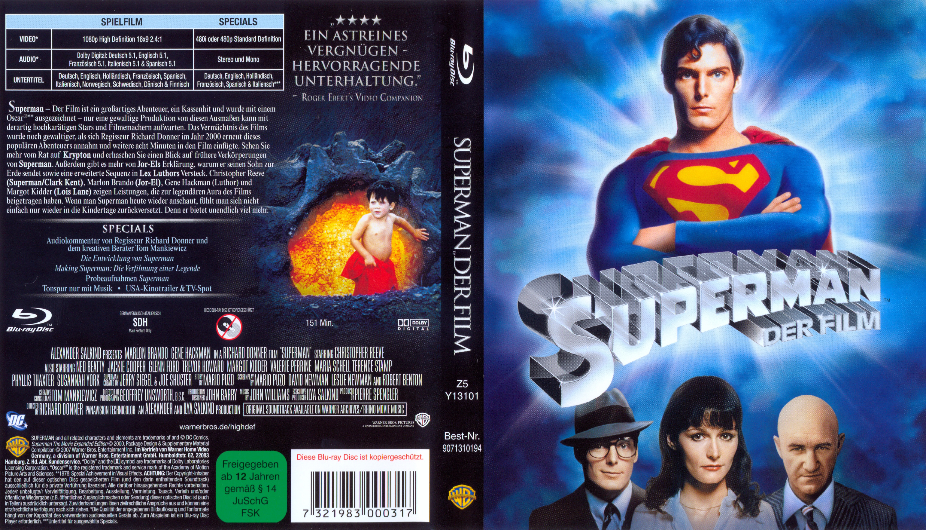 superman the movie dvd covers cover century over 500 000 album