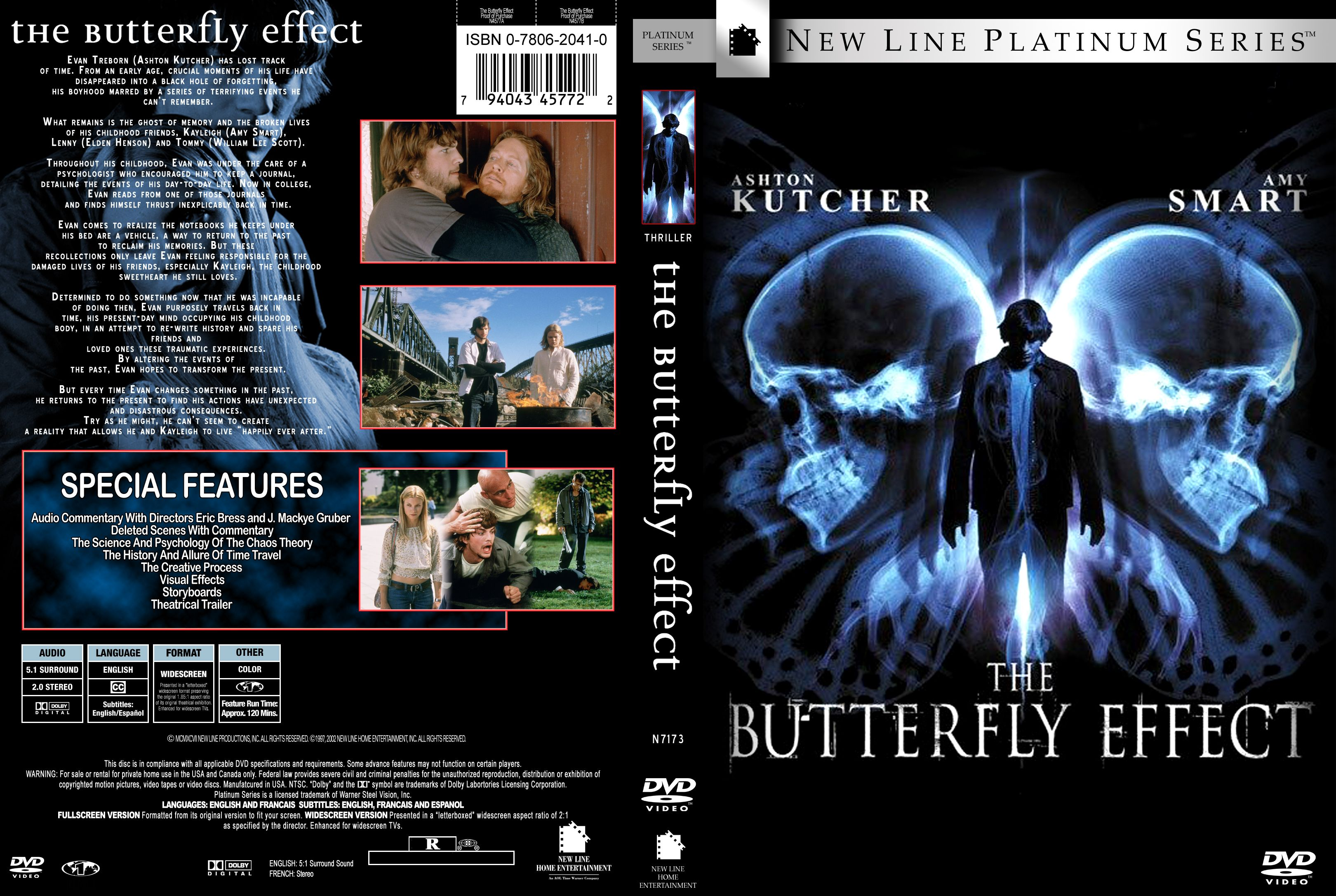 an analysis of the film butterfly effect Film analysis: - structure (eg avatar, momento, the butterfly effect) - selection of character - camera angles (eg low shot, high angle, birds eye view, etc) - dialogue.