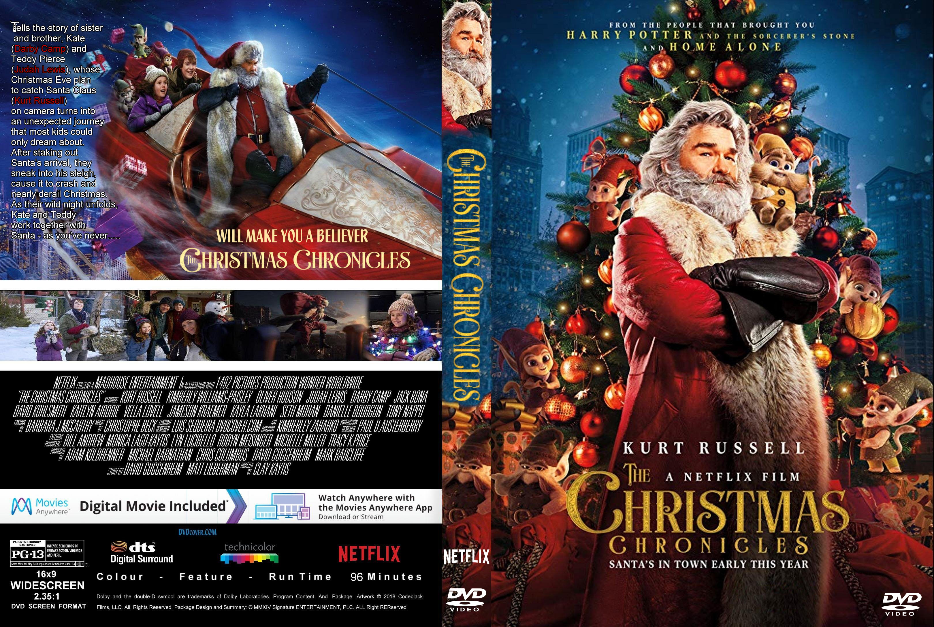 The Christmas Chronicles (2018) : Front | DVD Covers | Cover Century ...
