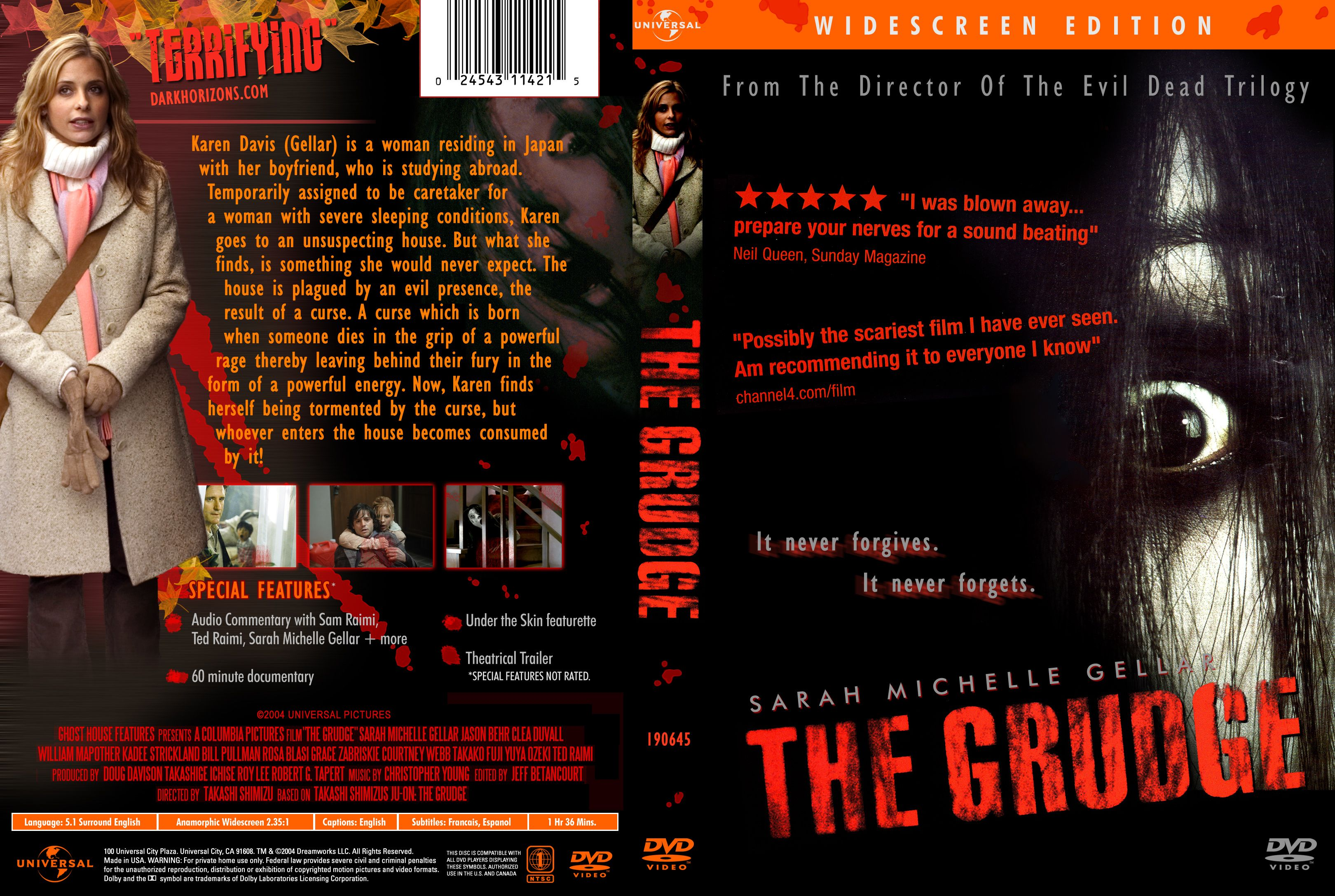 The Grudge 2004 Misc Dvd Dvd Covers Cover Century Over 500 000 Album Art Covers For Free