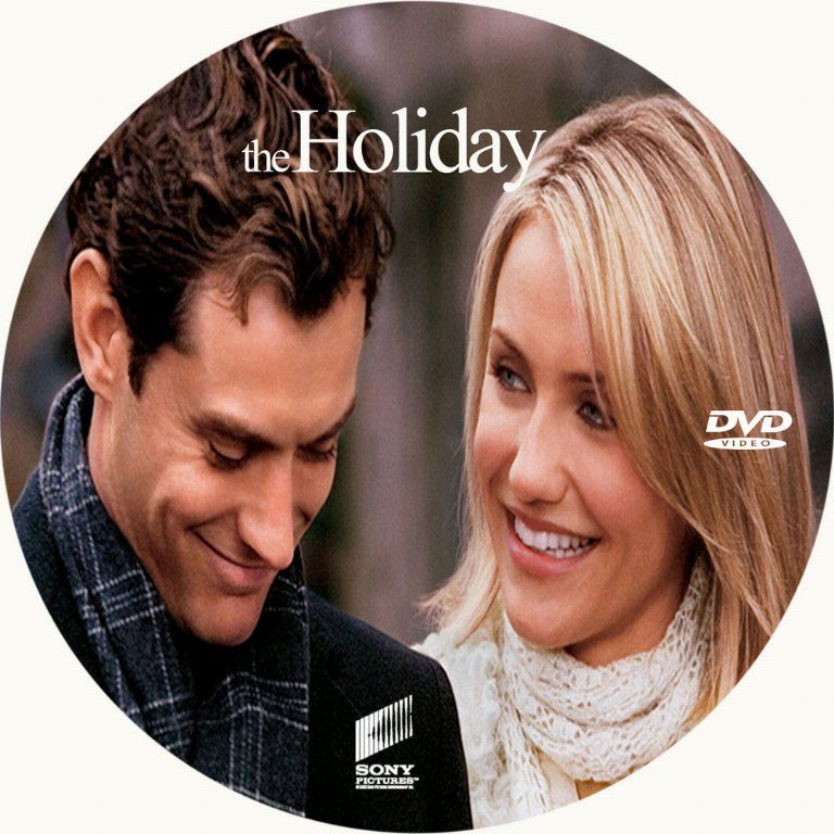 the holiday dvd cover