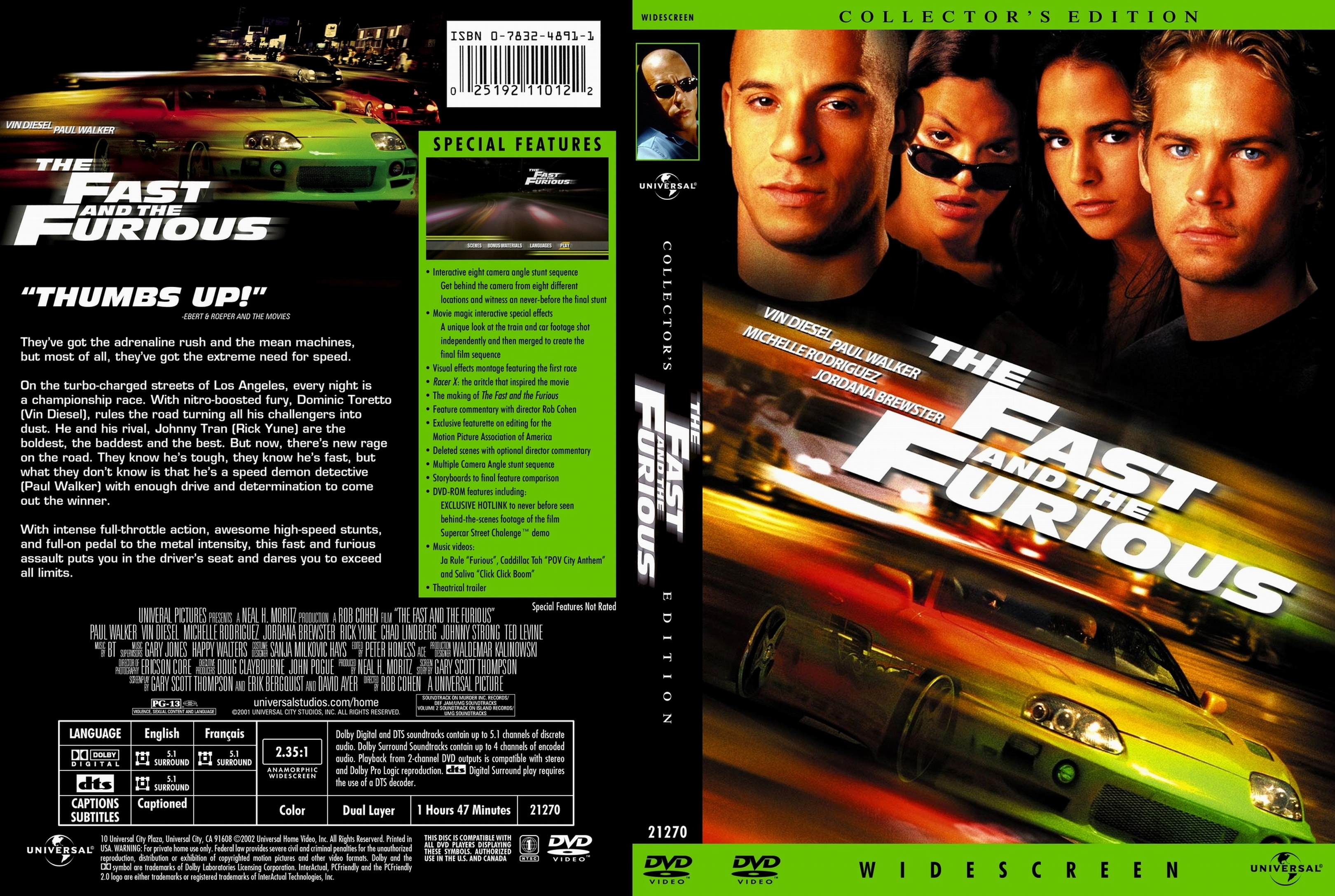 The Fast And The Furious 2001 Dvd Covers Cover Century Over 500 000 Album Art Covers For Free