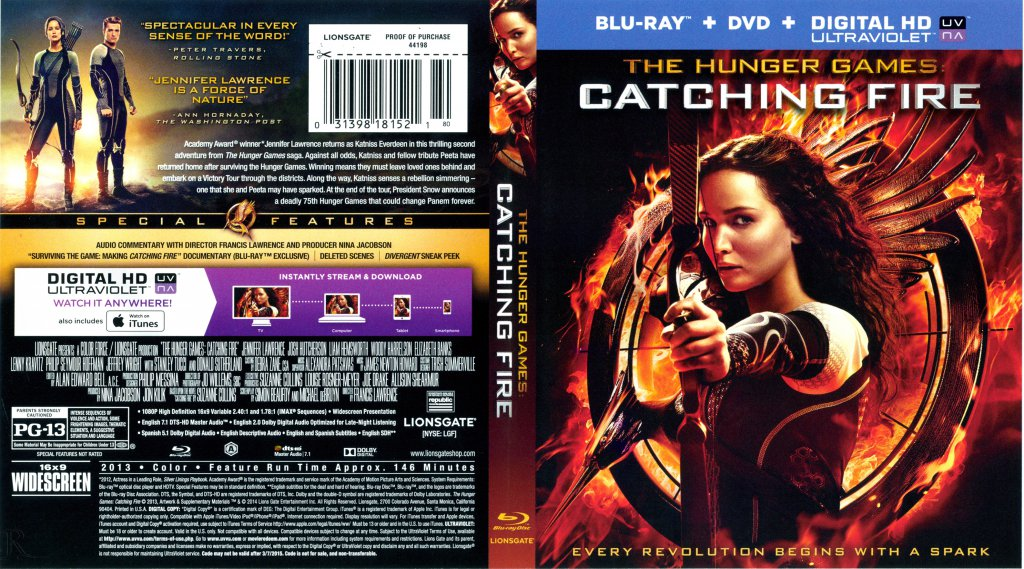 Watch The Hunger Games: Catching Fire Full Movie HD