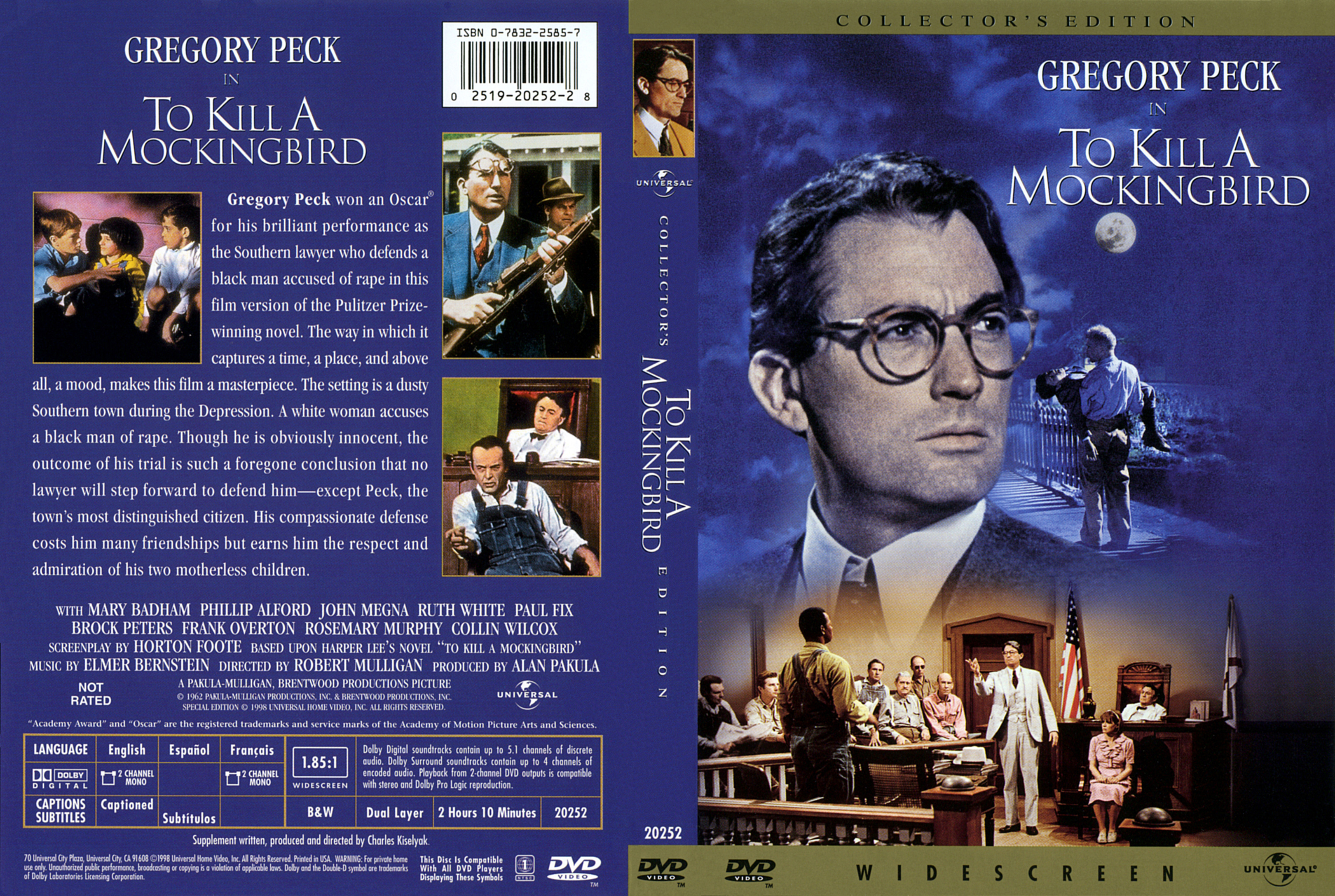 To Kill a Mockingbird is a 1962 American drama film directed by Robert Mulligan The screenplay by Horton Foote is based on Harper Lees 1960 Pulitzer Prizewinning