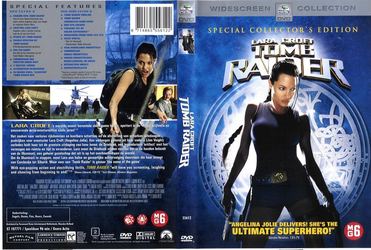 Tomb Raider Dvd Nl Dvd Covers Cover Century Over 500 000