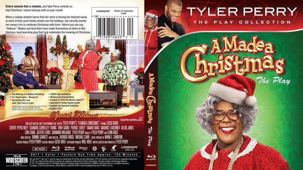 Tyler Perry A Madea Christmas Bluray