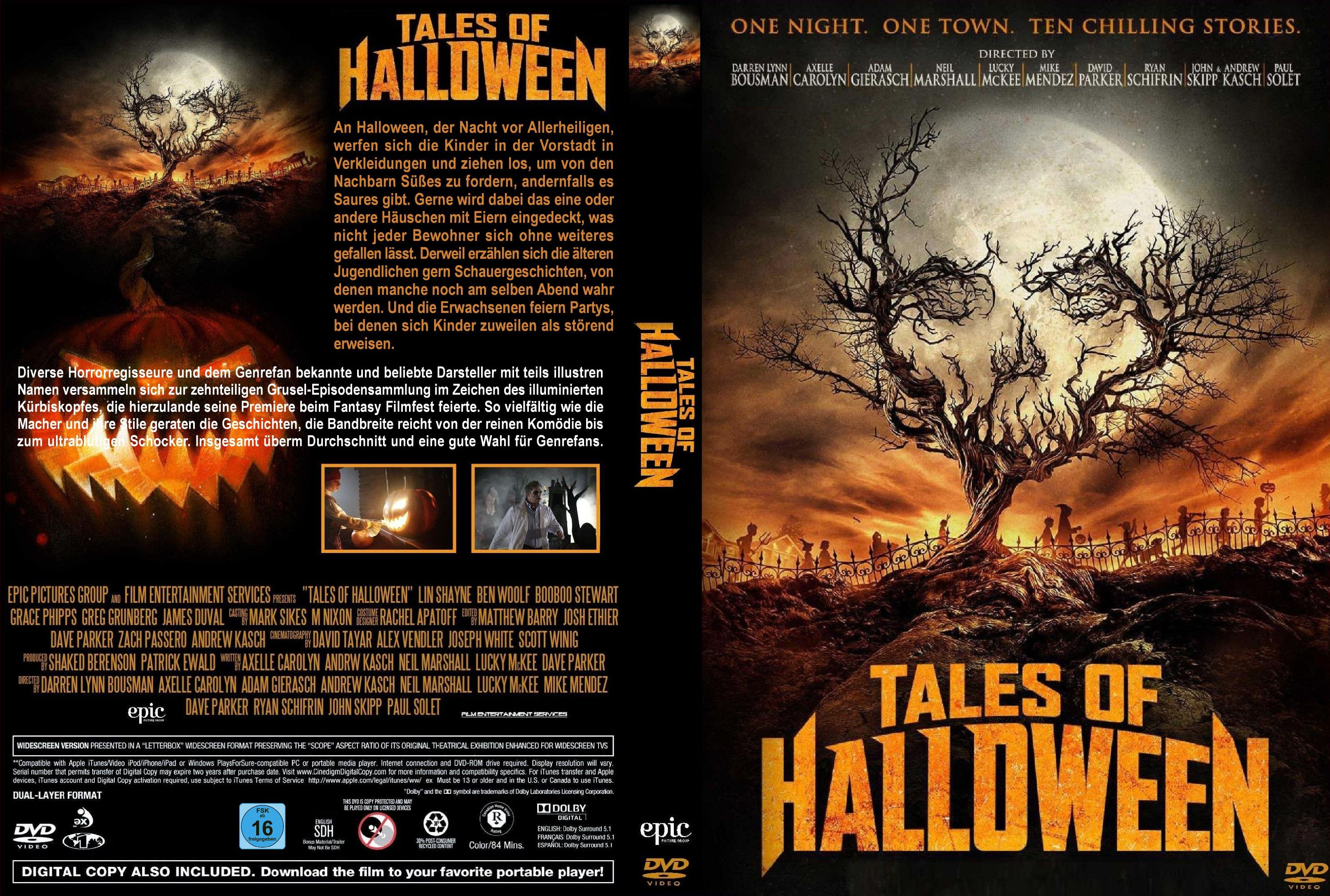 tales of halloween | dvd covers | cover century | over 500.000 album