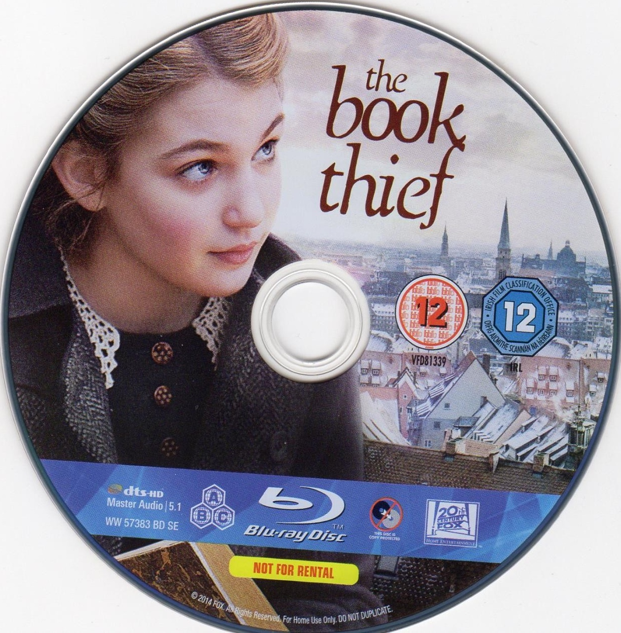 dvd arts the cover book thief