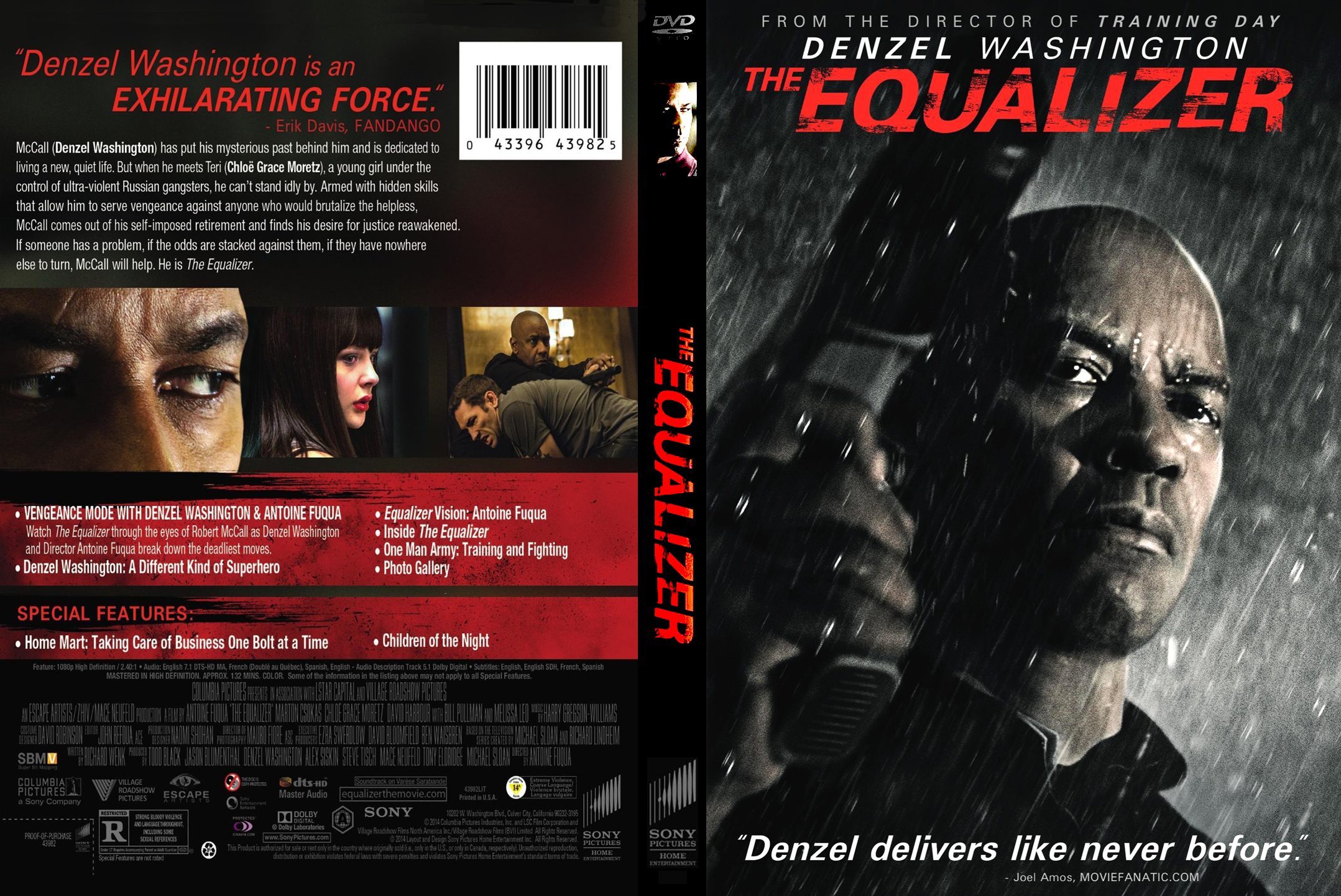 The Equalizer Dvd Label Wwwtopsimagescom