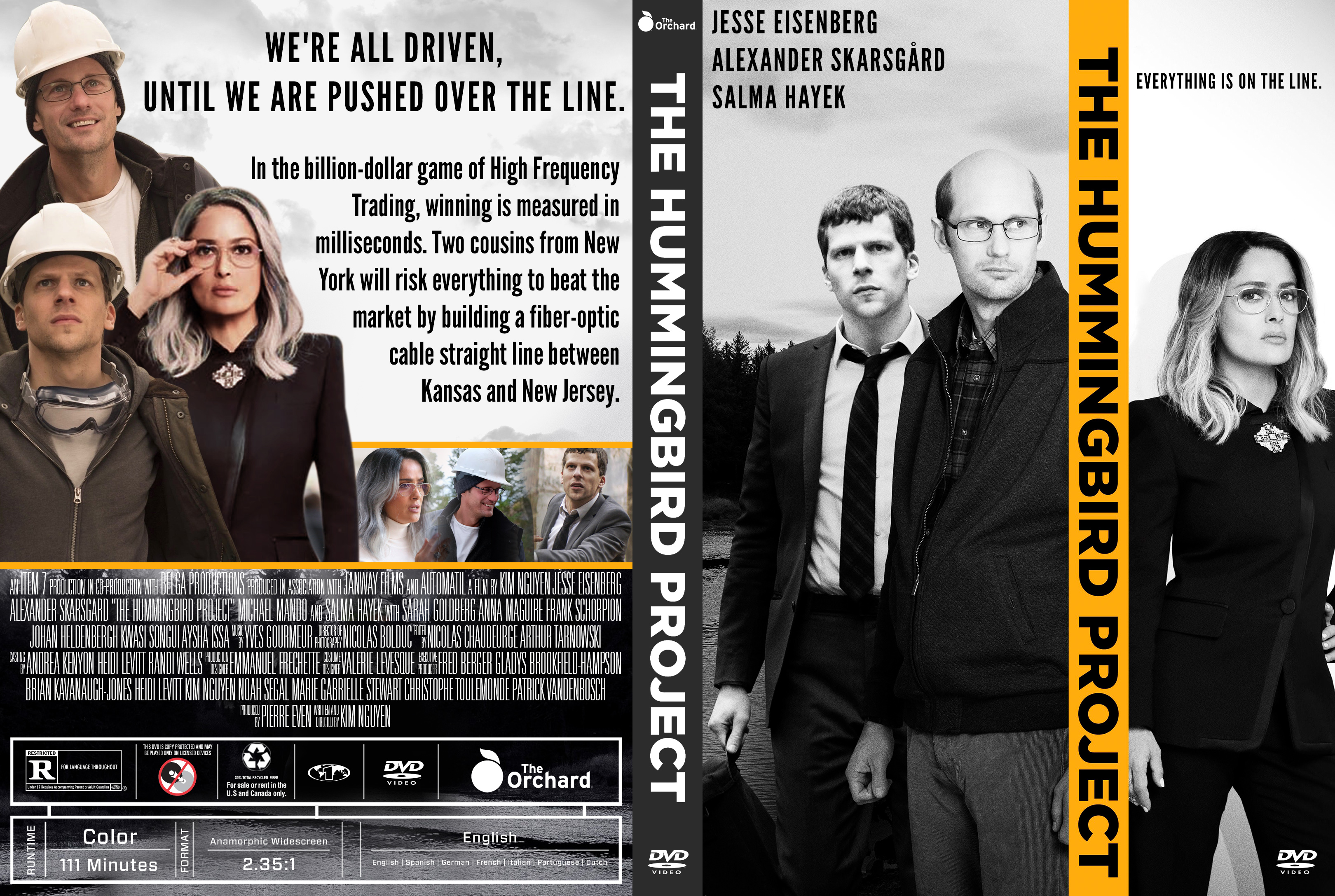The Hummingbird Project (2019) : Front | DVD Covers | Cover
