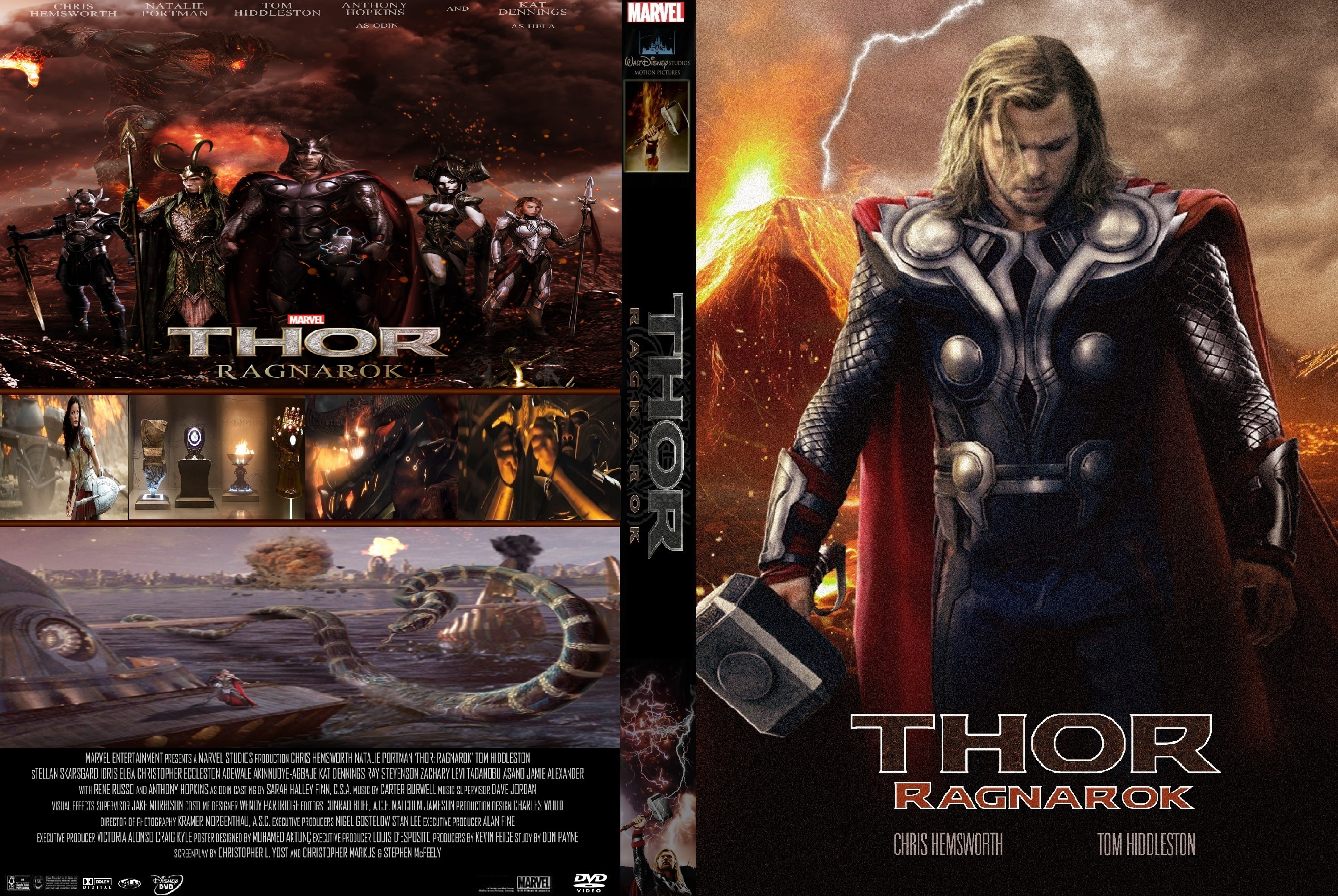 Thor Ragnarok 2017 Front Dvd Covers Cover Century Over 500 000 Album Art Covers For Free