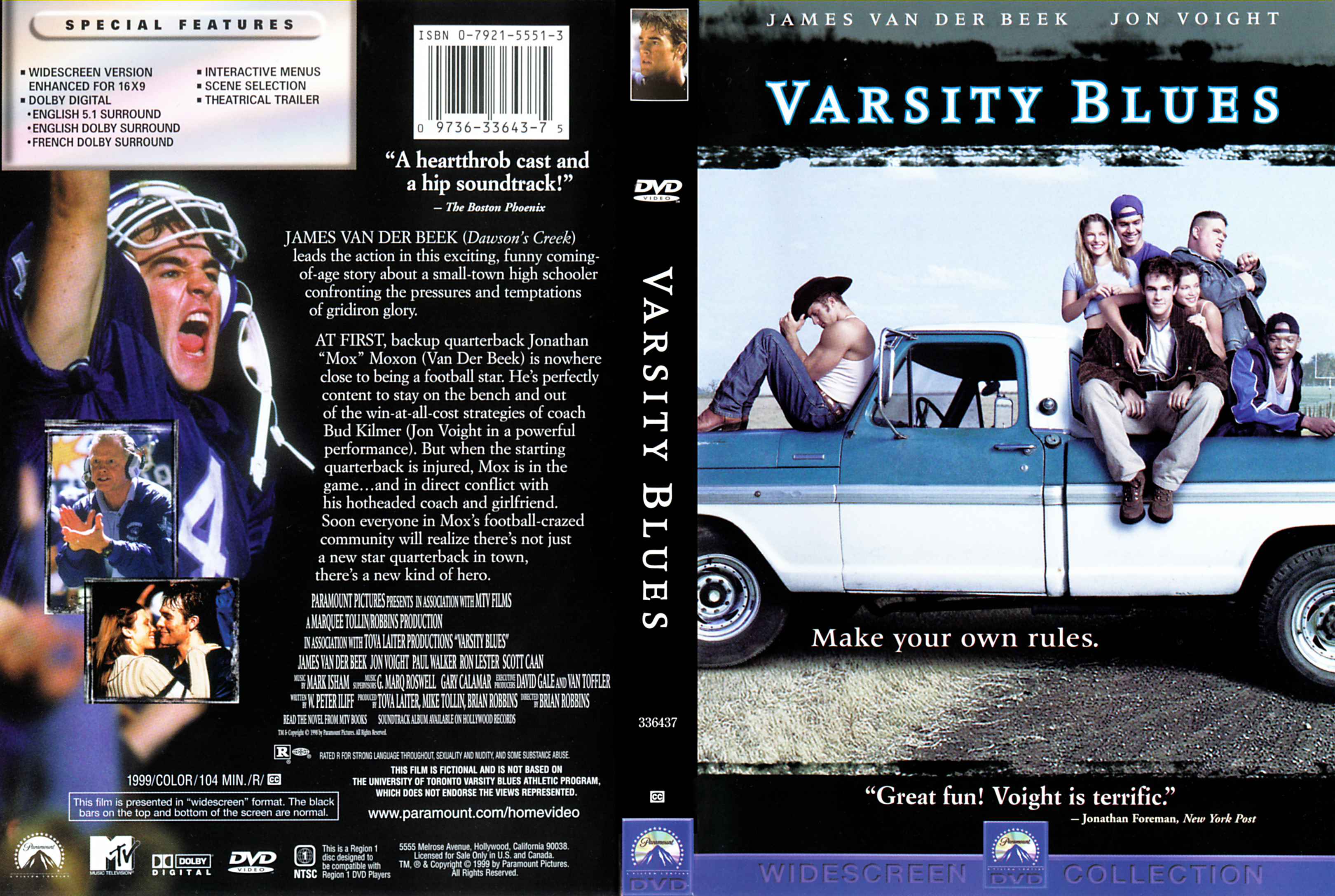 Mark Isham Various Artists Varsity Blues Music From And Inspired By The Motion Picture Amazoncom Music