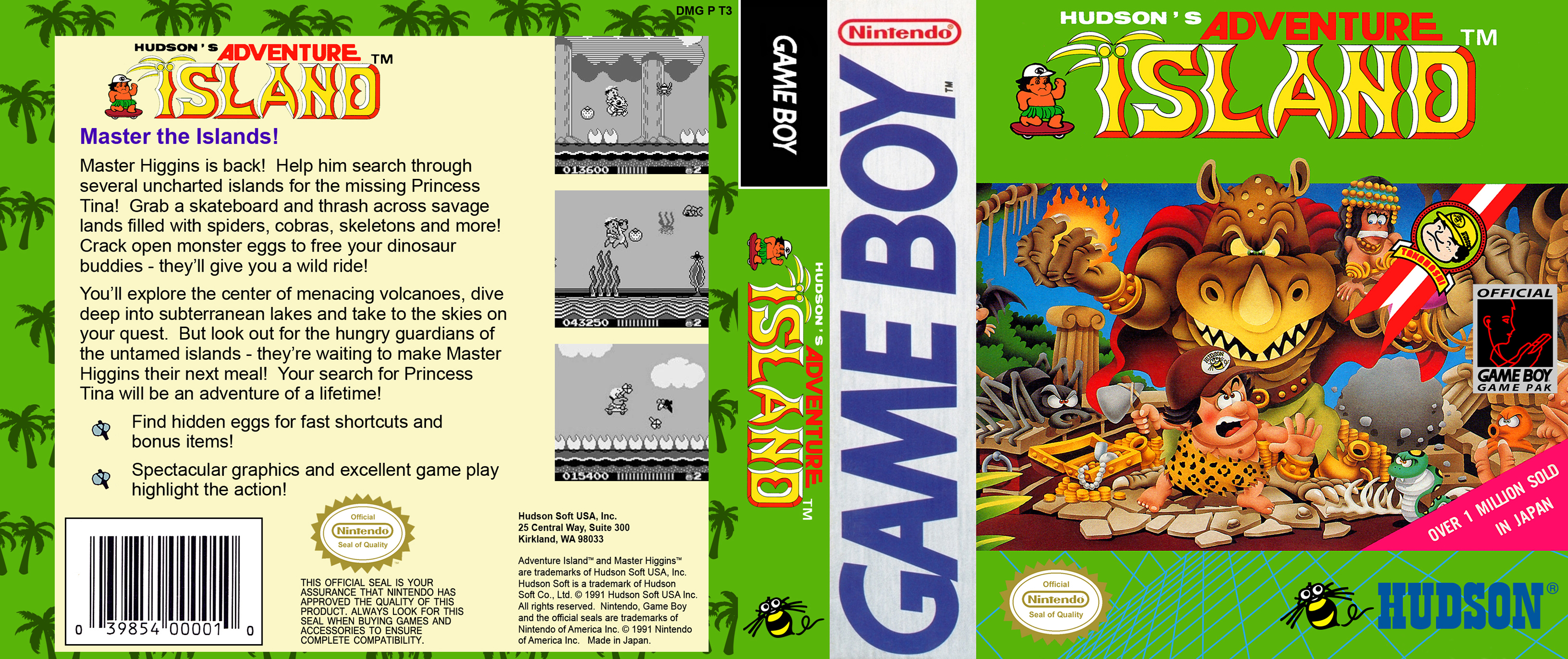 Adventure Island Gameboy Covers Cover Century Over 500 000 Album Art Covers For Free