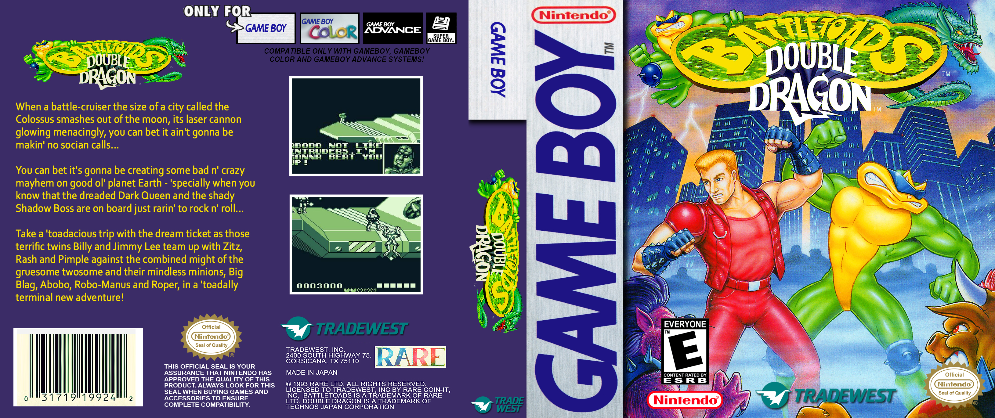 Battle Toads Double Dragon Gameboy Covers Cover Century Over 500 000 Album Art Covers For Free