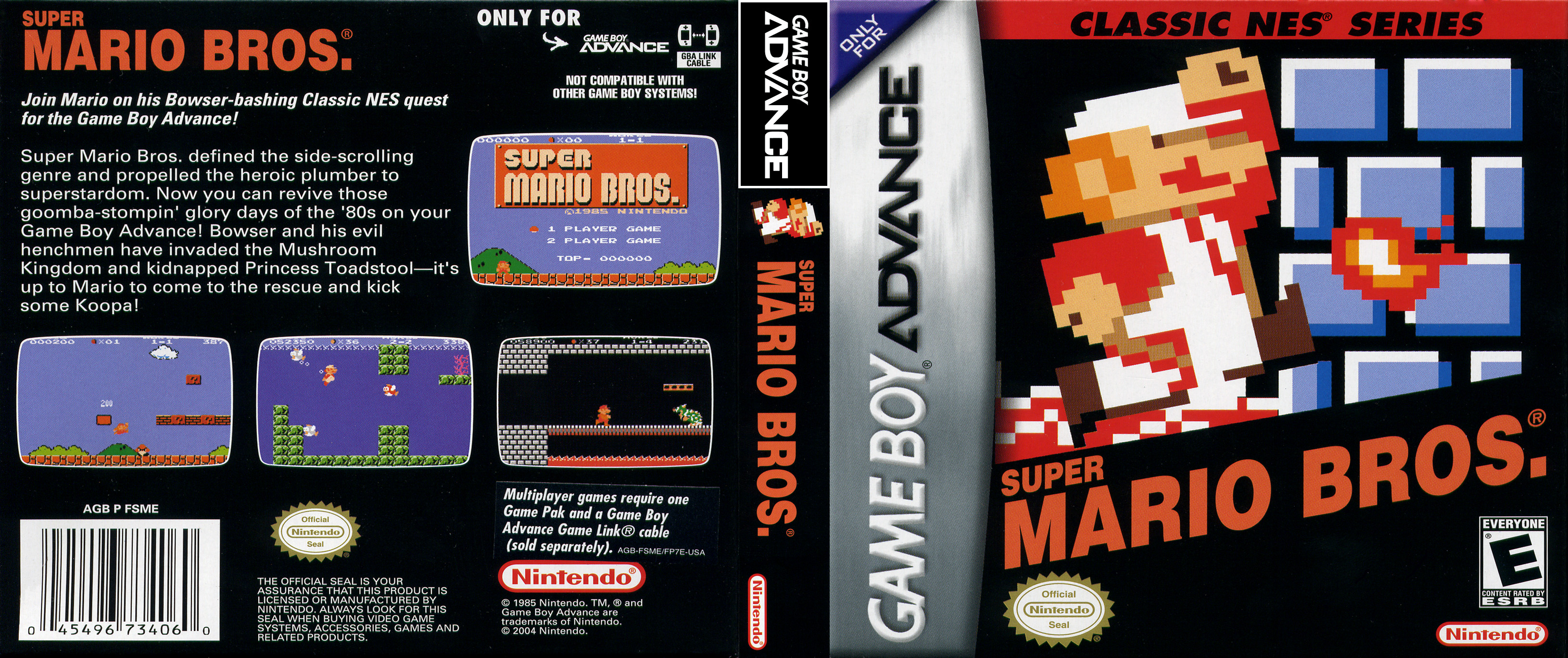 Super Mario Bros Gameboy Advance Covers Cover Century Over
