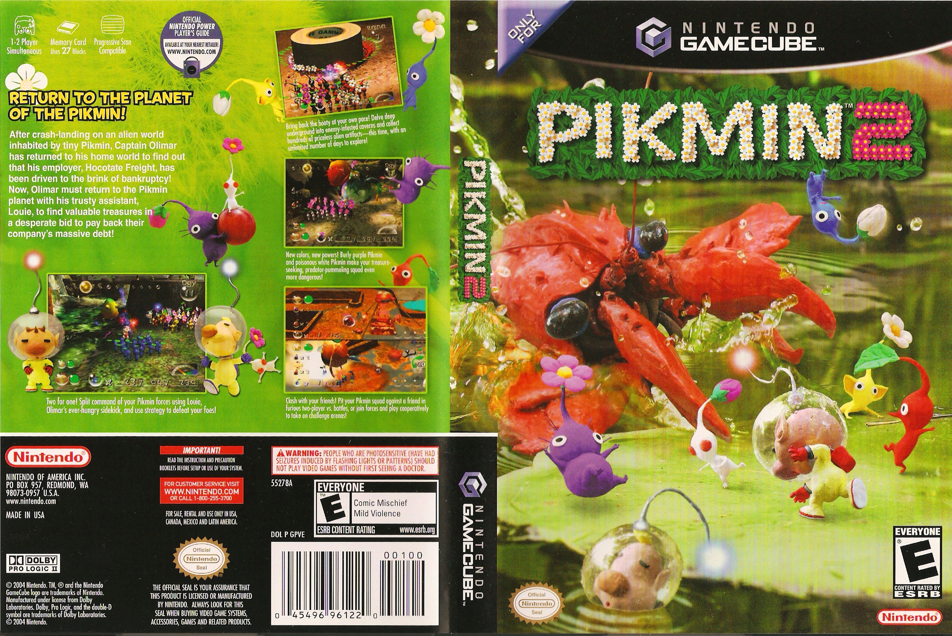 Pikmin 2 Gamecube Covers Cover Century Over 500 000 Album