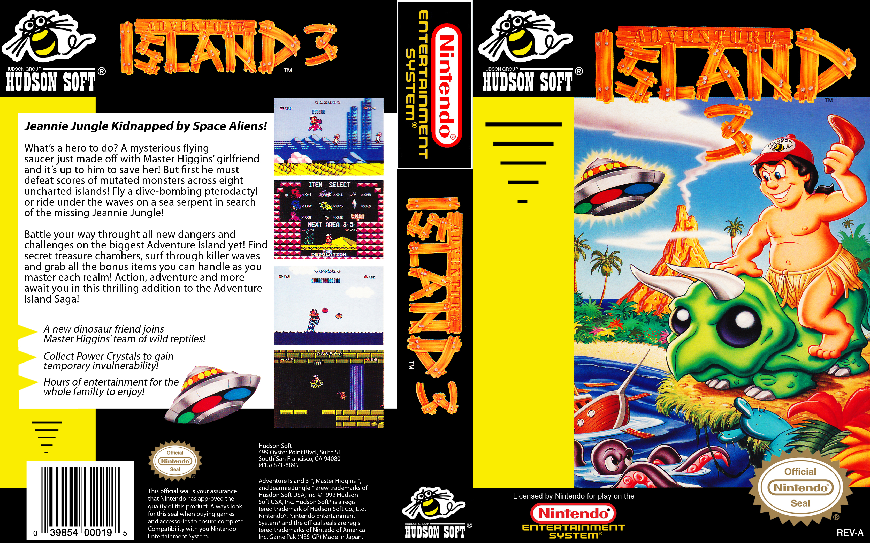 Adventure Island Super Nintendo