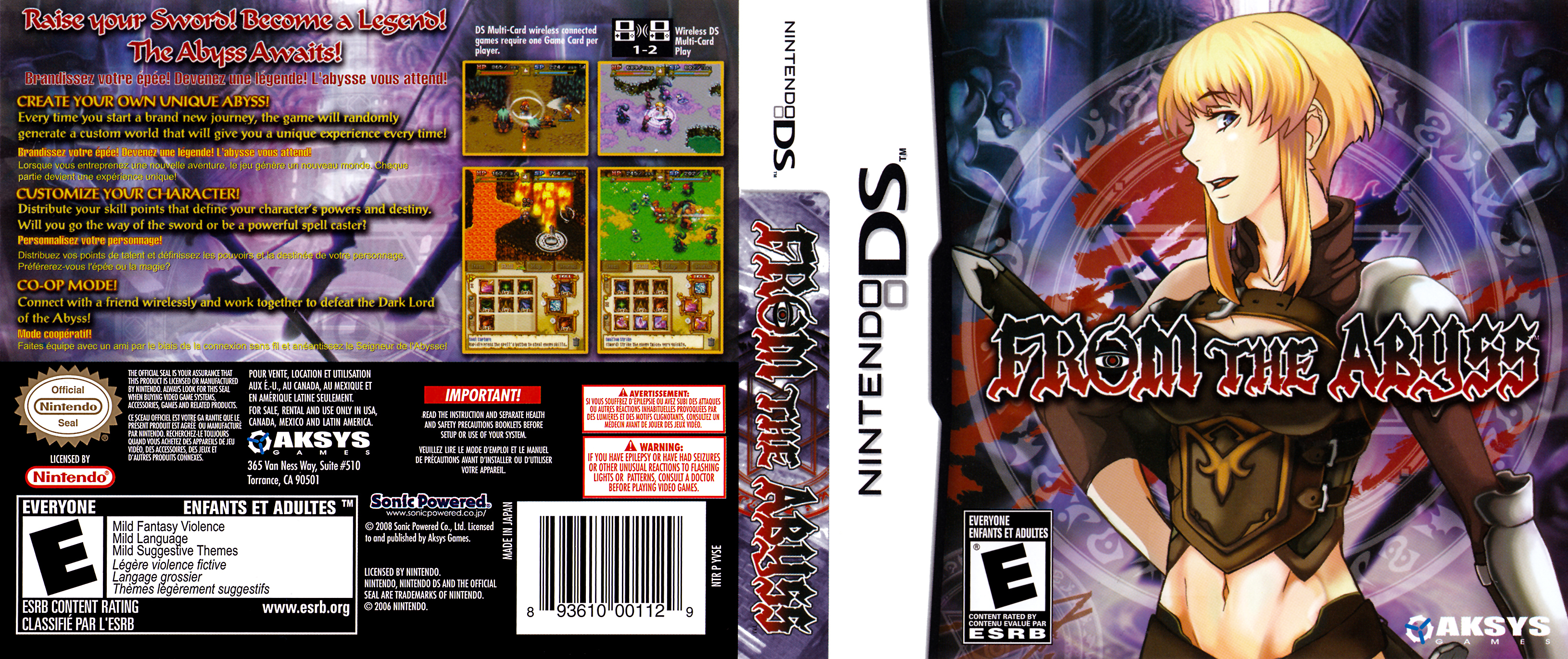 from the abyss ds