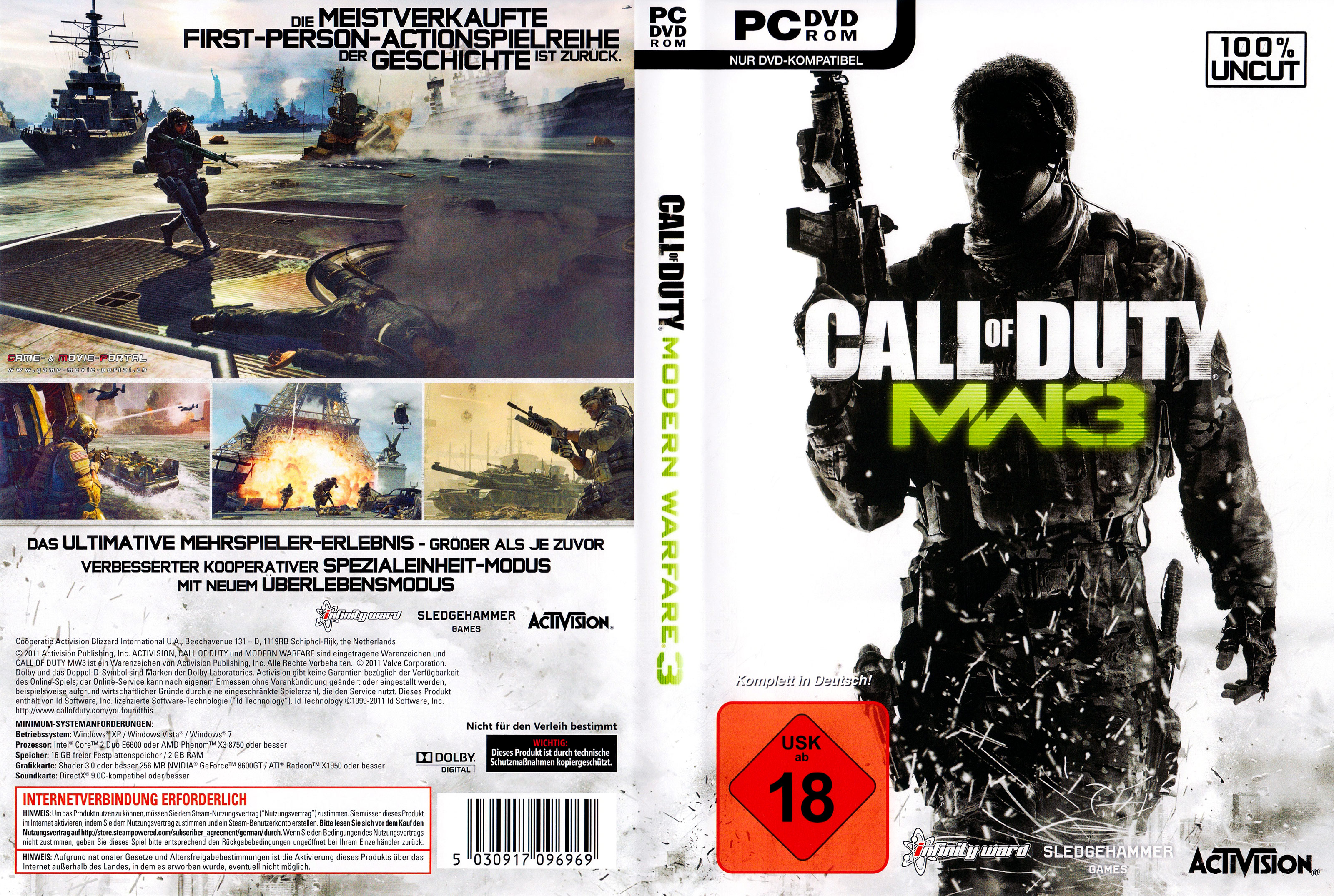 Call Of Duty Modern Warfare 3 Pc Covers Cover Century Over 500 000 Album Art Covers For Free