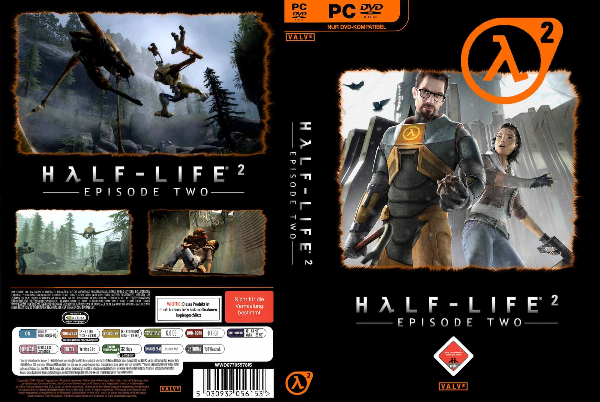 Half Life 2 Episode Two Cover | PC Covers | Cover Century