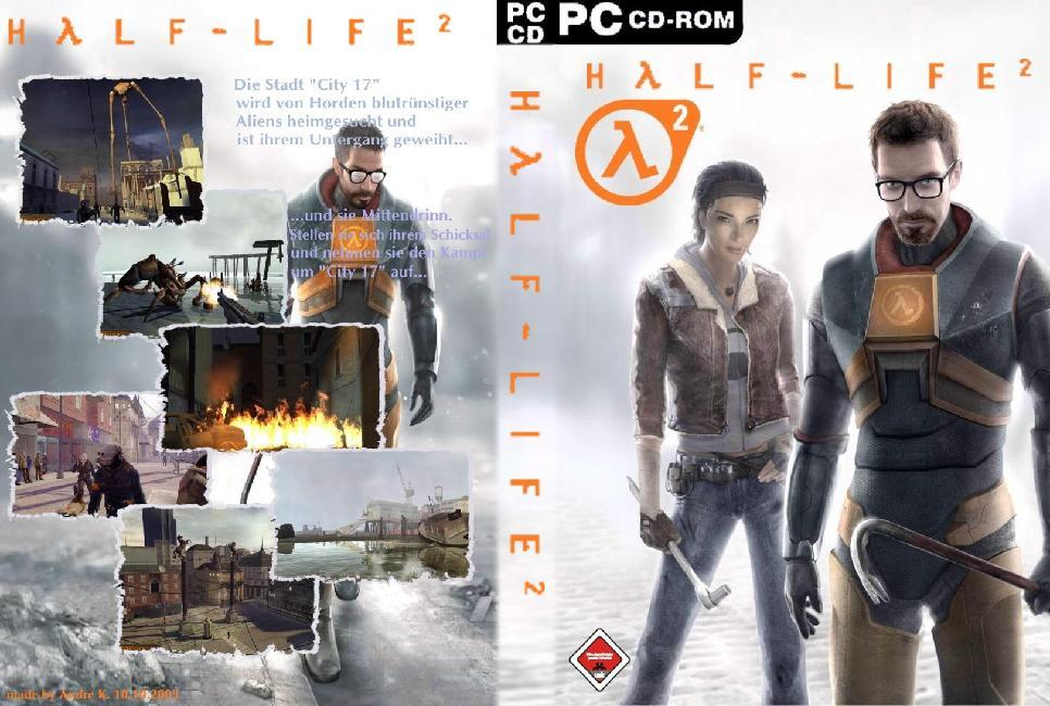 Half Life 2 Front1 | PC Covers | Cover Century | Over